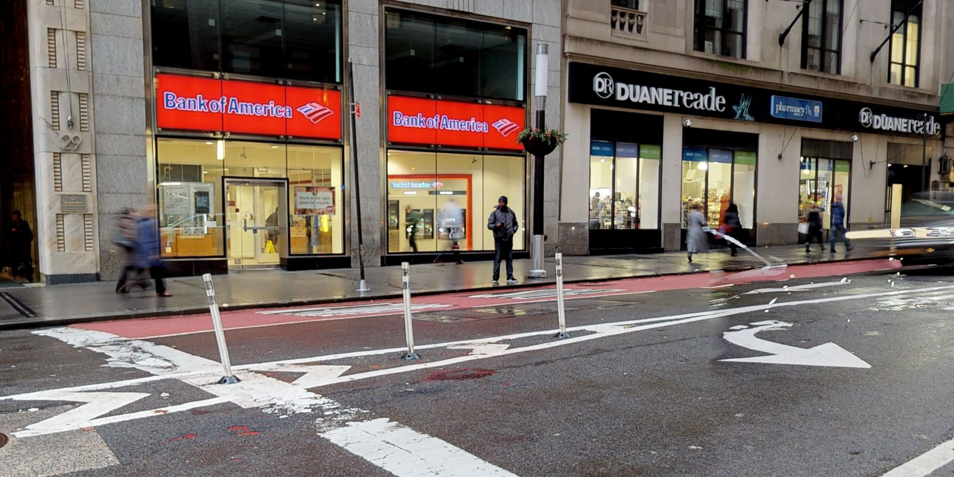 Bank of America financial center with walk-up ATM   29 Broadway, New York, NY 10006