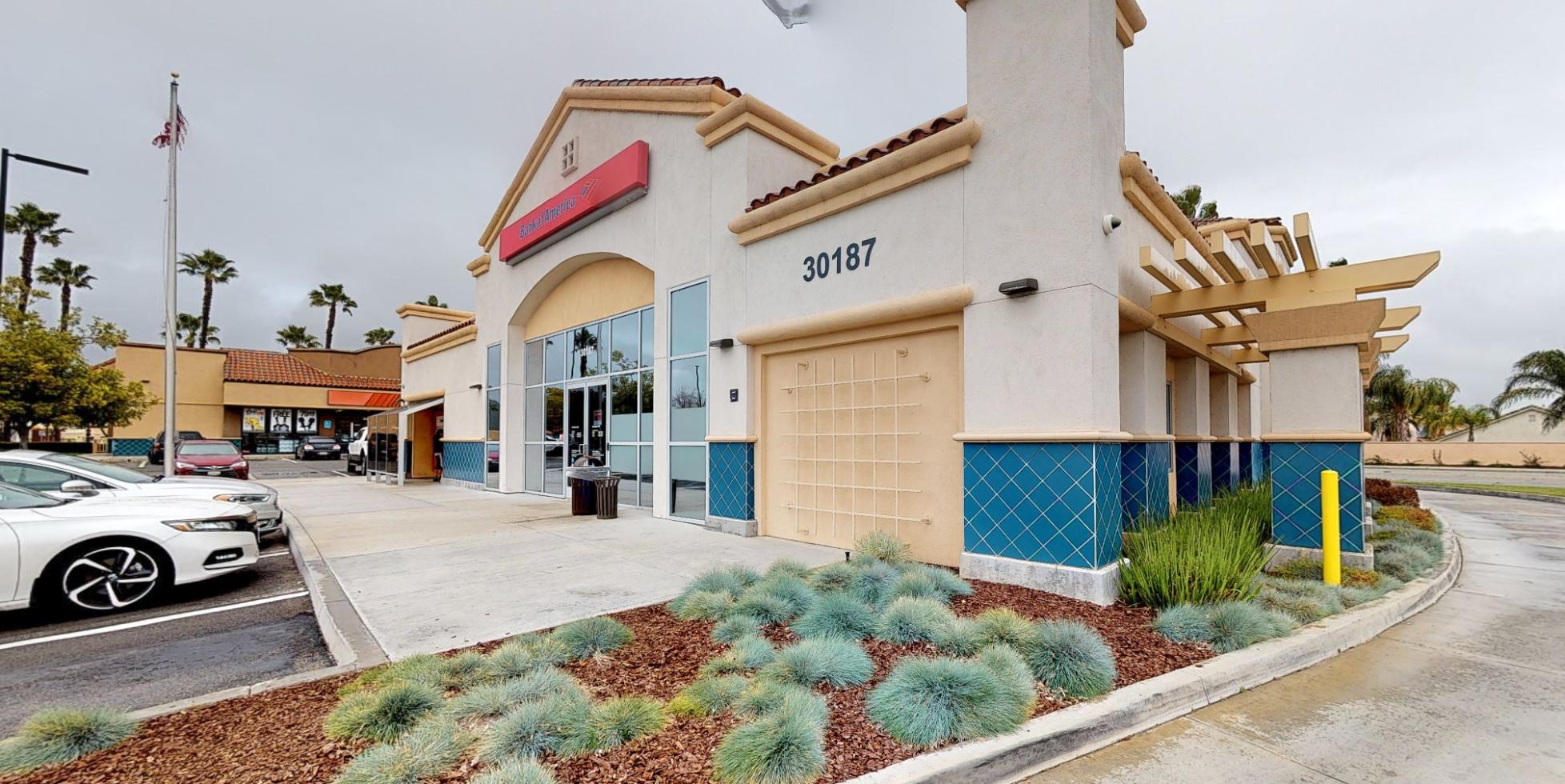 Bank of America financial center with drive-thru ATM | 30187 Antelope Rd, Menifee, CA 92584