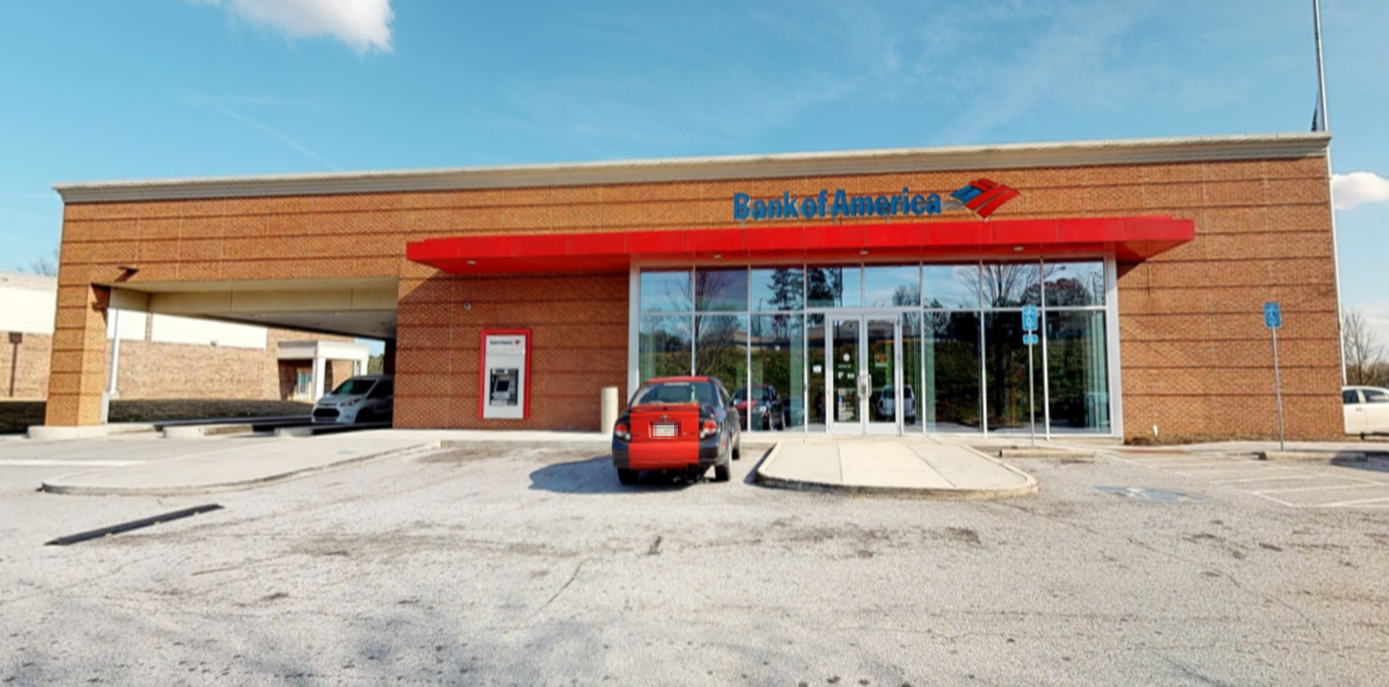 Bank of America financial center with drive-thru ATM | 3930 Lawrenceville Hwy NW, Lilburn, GA 30047