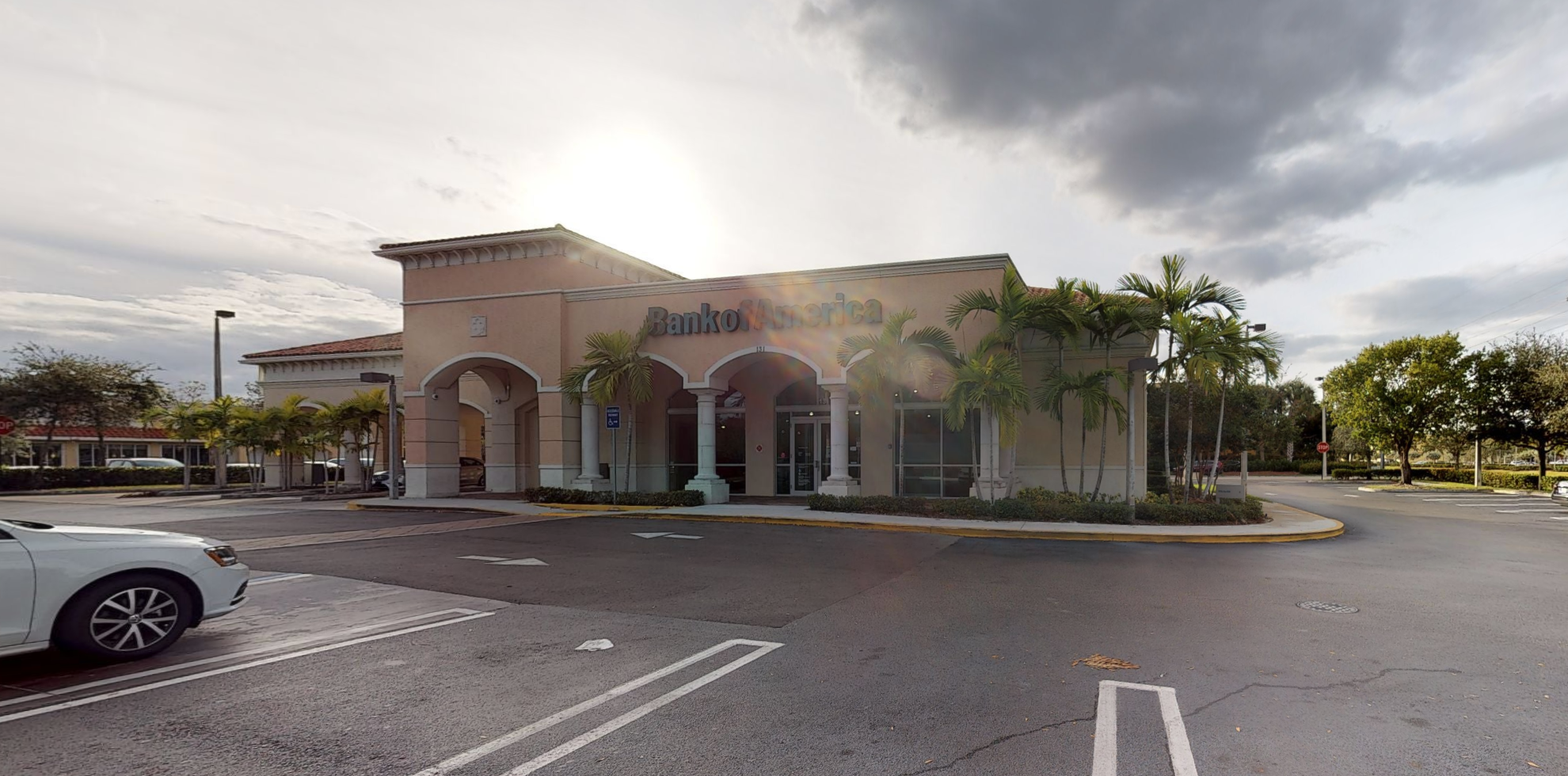Bank of America financial center with drive-thru ATM | 131 S State Road 7, Wellington, FL 33414