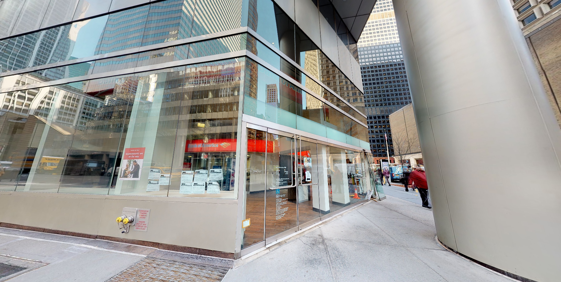 Bank of America financial center with walk-up ATM | 900 3rd Ave, New York, NY 10022