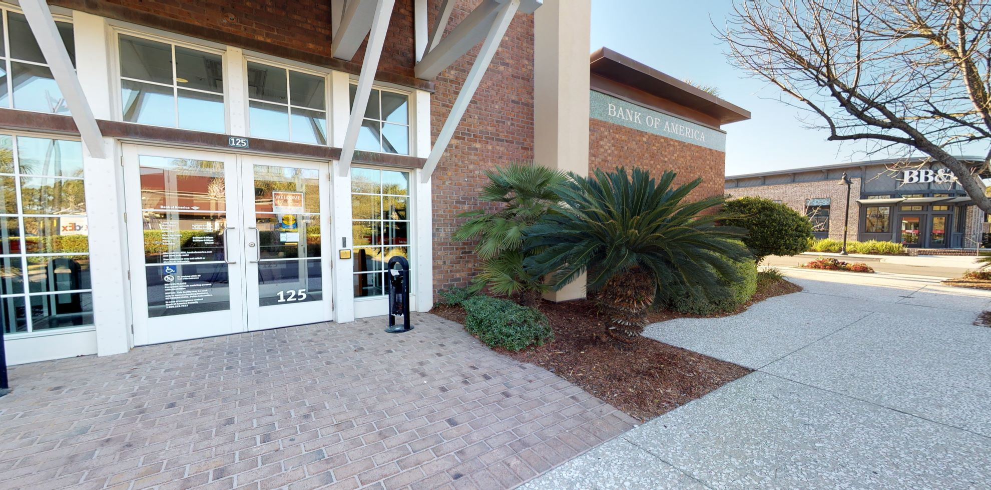 Bank of America financial center with drive-thru ATM and teller | 125 Hedge Row Ln, Johns Island, SC 29455