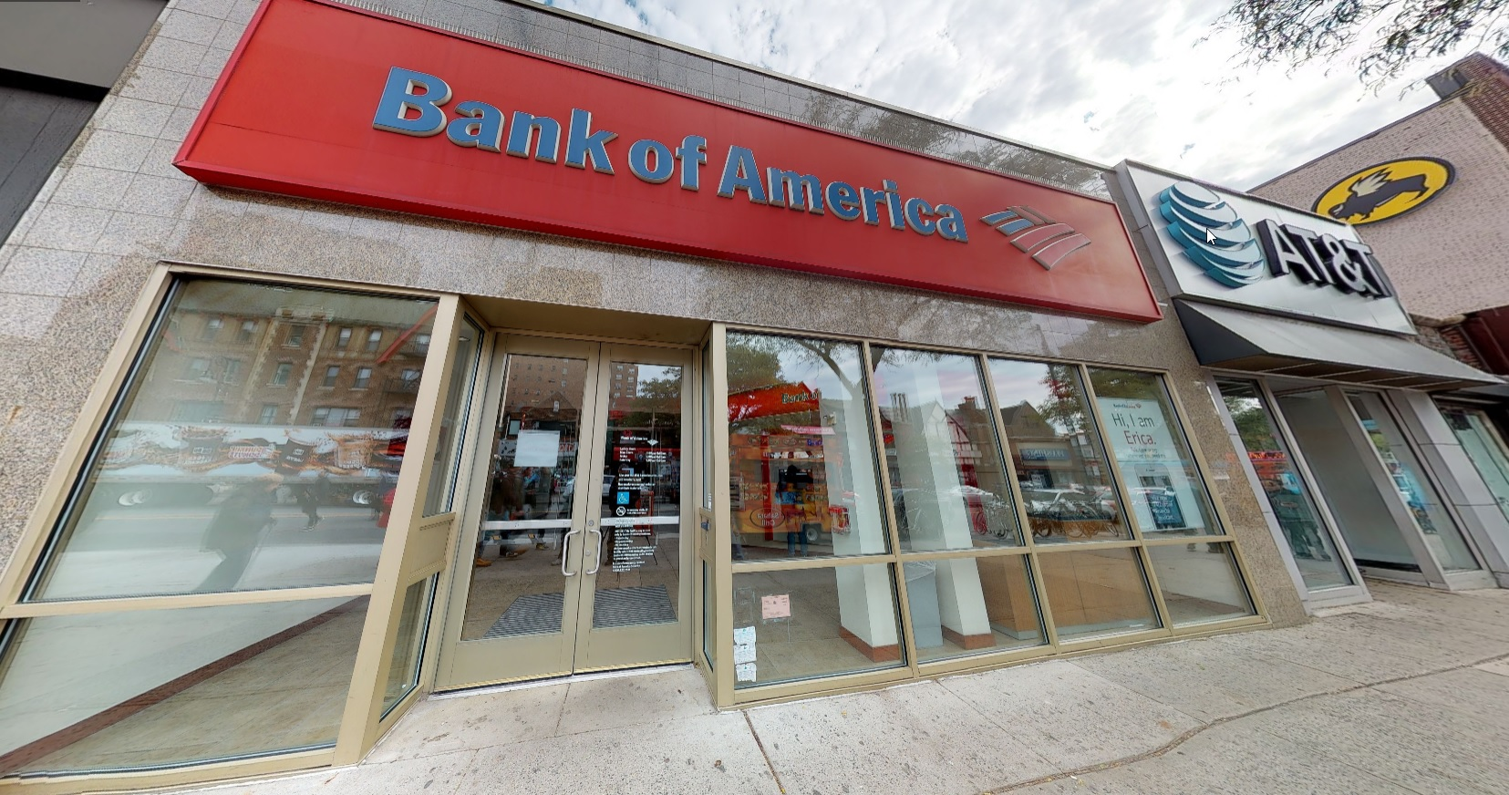 Bank of America financial center with walk-up ATM | 10726 Continental Ave, Forest Hills, NY 11375
