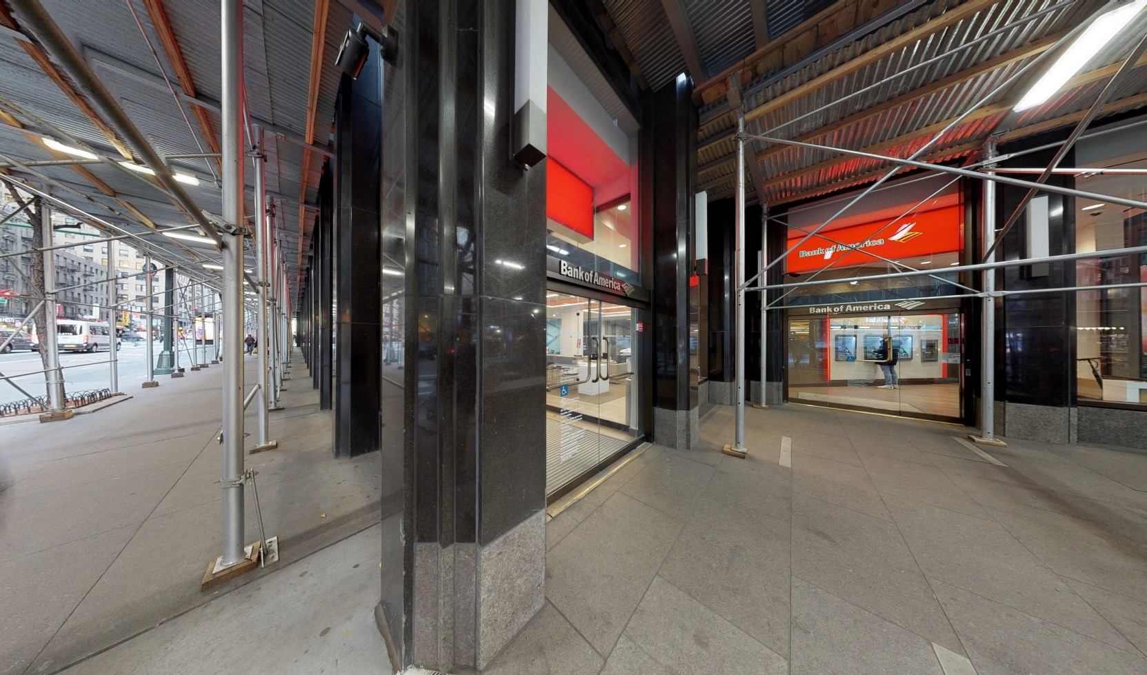 Bank of America financial center with walk-up ATM | 675 3rd Ave, New York, NY 10017
