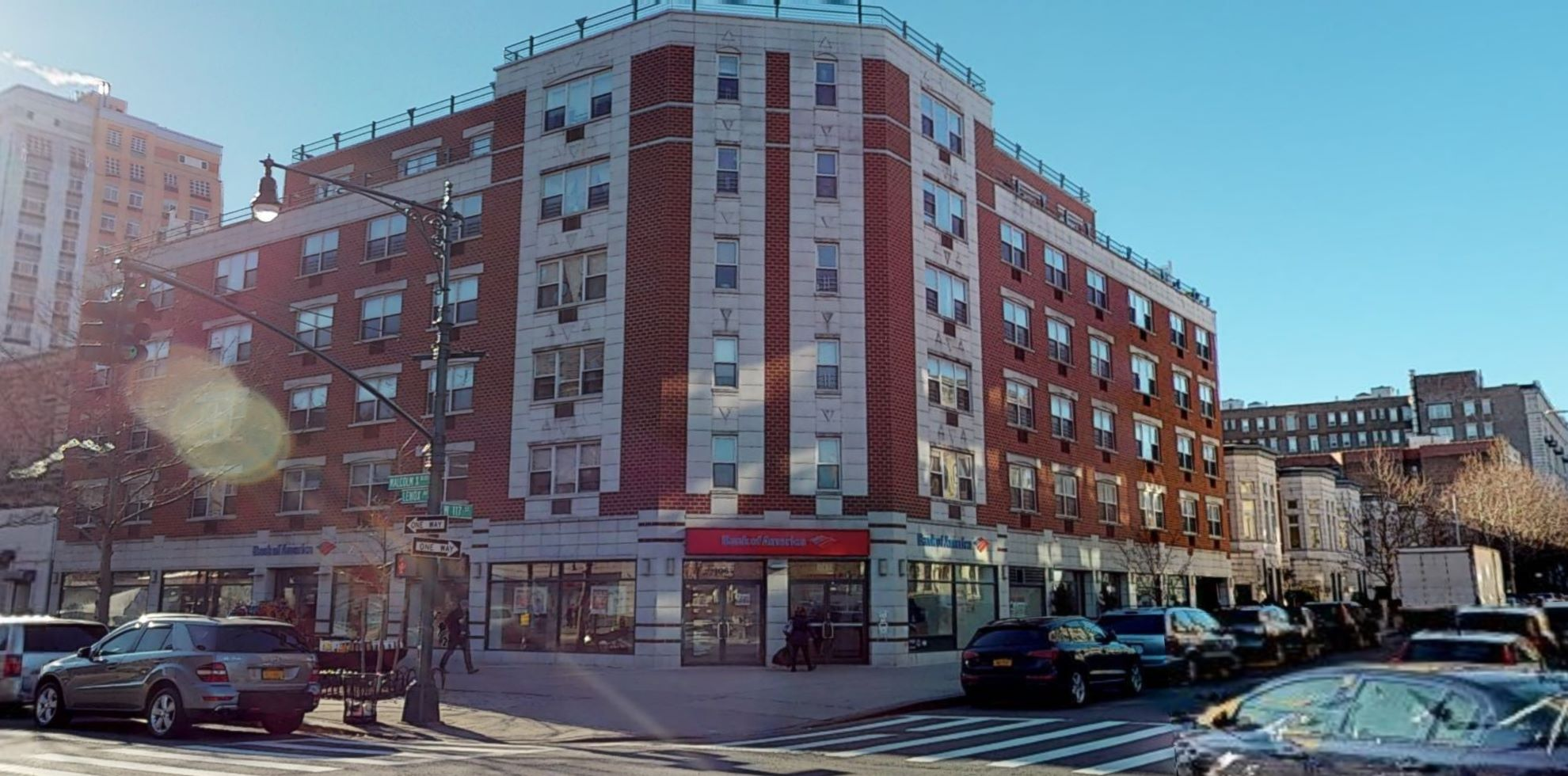 Bank of America financial center with walk-up ATM | 106 W 117th St, New York, NY 10026