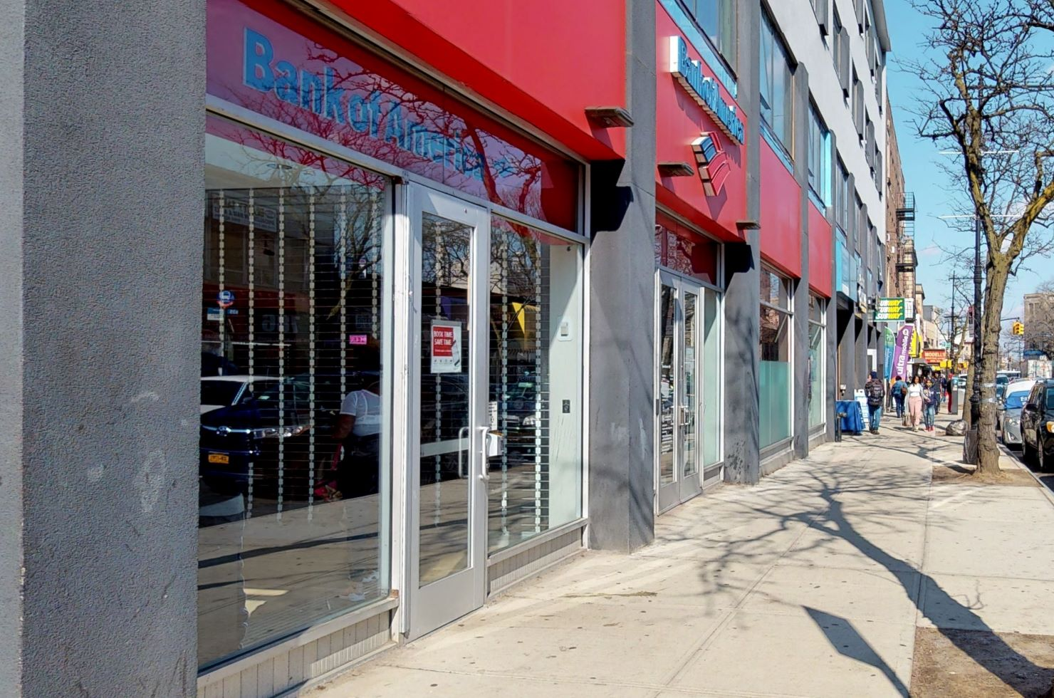Bank of America financial center with walk-up ATM   515 Ocean Ave, Brooklyn, NY 11226