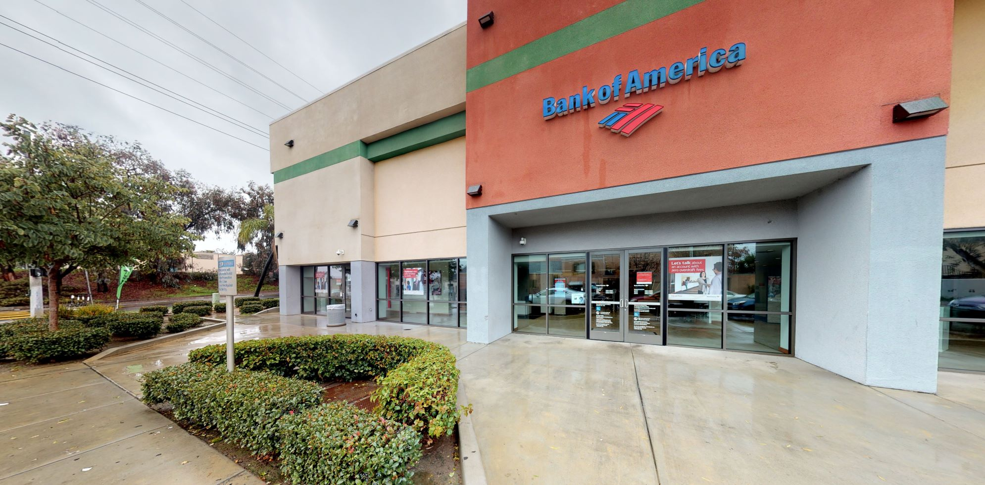 Bank of America financial center with walk-up ATM | 3582 National Ave, San Diego, CA 92113