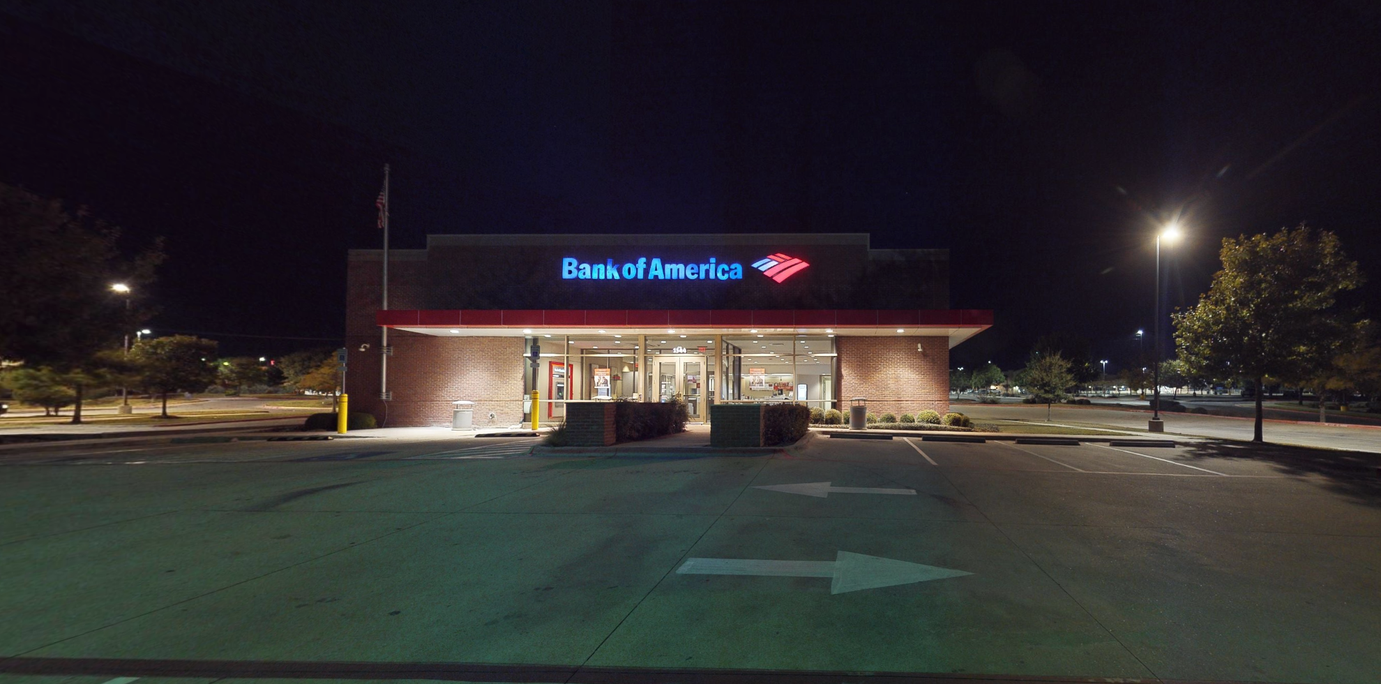 Bank of America financial center with drive-thru ATM and teller   1544 FM 685, Pflugerville, TX 78660