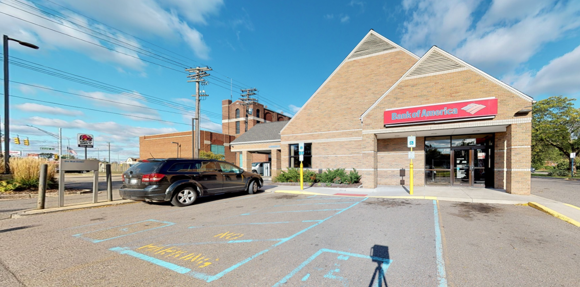 Bank of America financial center with drive-thru ATM | 13900 Livernois Ave, Detroit, MI 48238