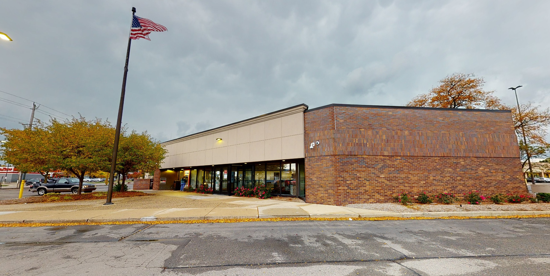 Bank of America financial center with drive-thru ATM   25001 Van Dyke Ave, Center Line, MI 48015
