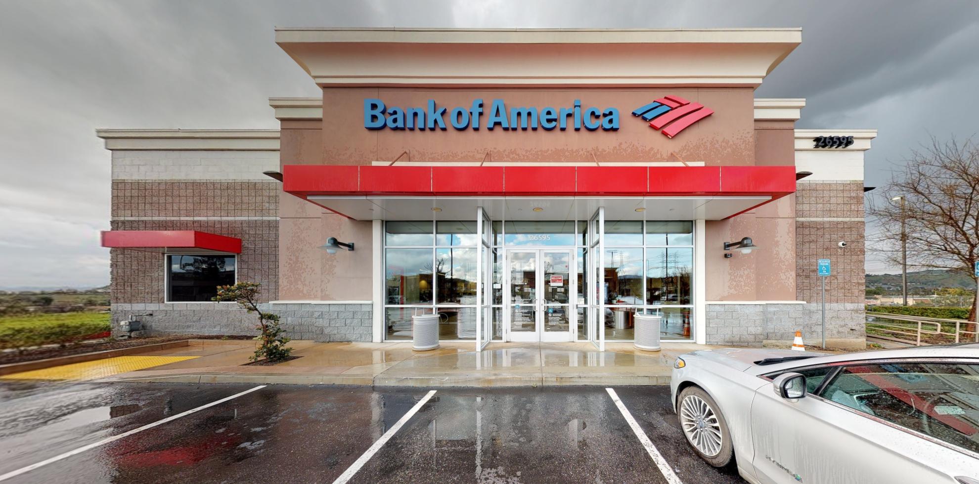 Bank of America financial center with drive-thru ATM   26595 Golden Valley Rd, Santa Clarita, CA 91350