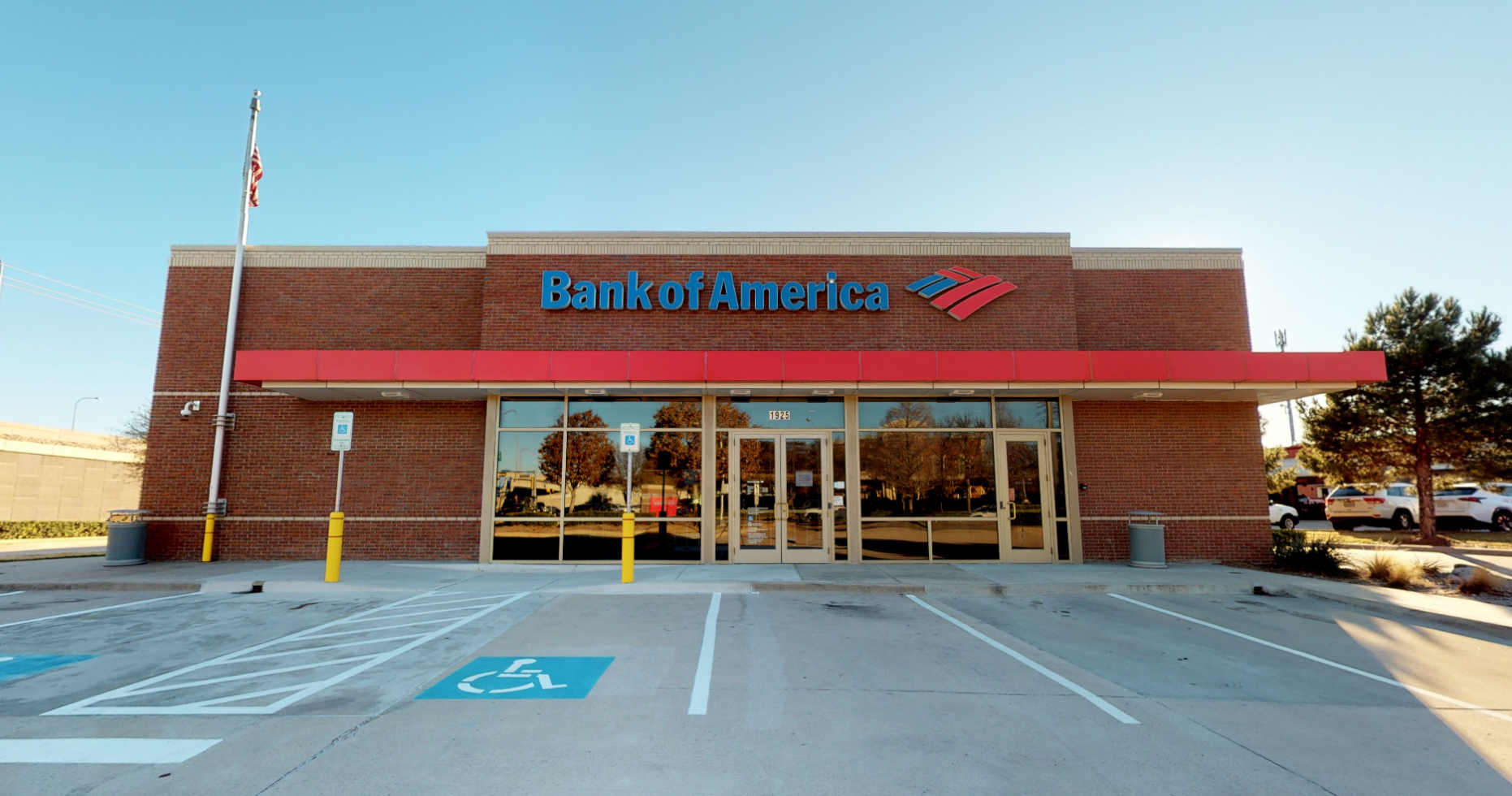 Bank of America financial center with drive-thru ATM   1925 Dallas Pkwy, Plano, TX 75093