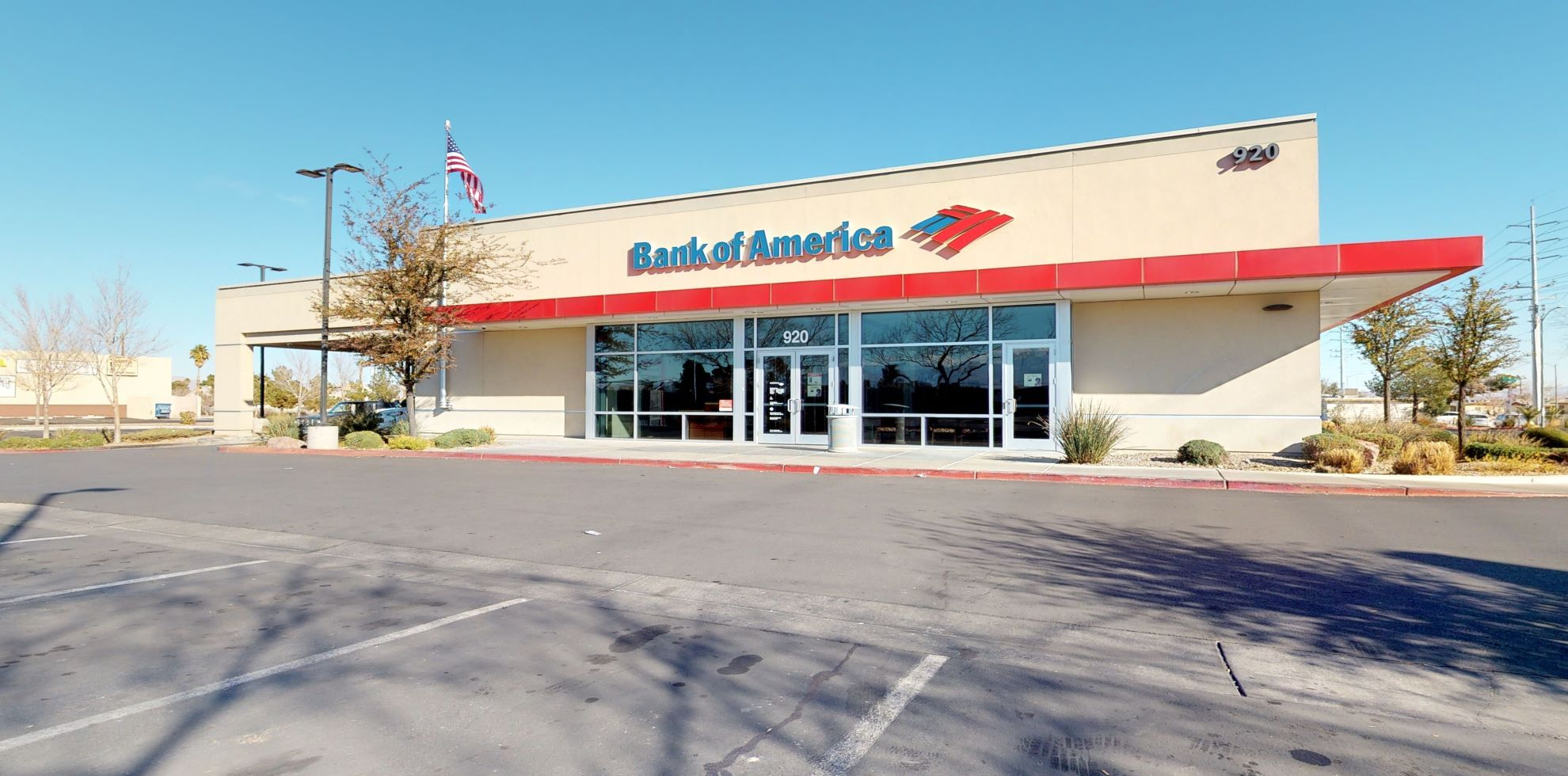 Bank of America financial center with drive-thru ATM | 920 N Martin Luther King Blvd, Las Vegas, NV 89106