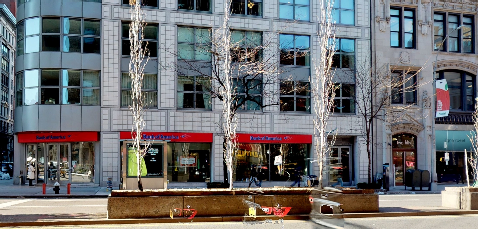 Bank of America financial center with walk-up ATM | 240 Park Ave S, New York, NY 10003