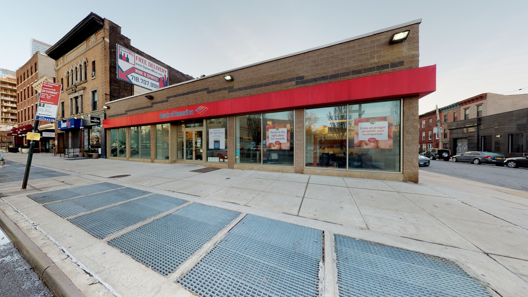 Bank of America financial center with walk-up ATM   2410 Jackson Ave, Long Island City, NY 11101