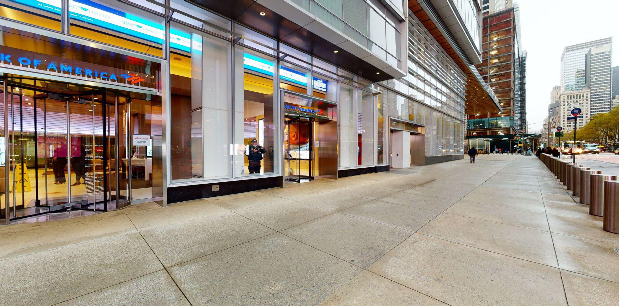 Bank of America financial center with walk-up ATM | 115 W 42nd St, New York, NY 10036