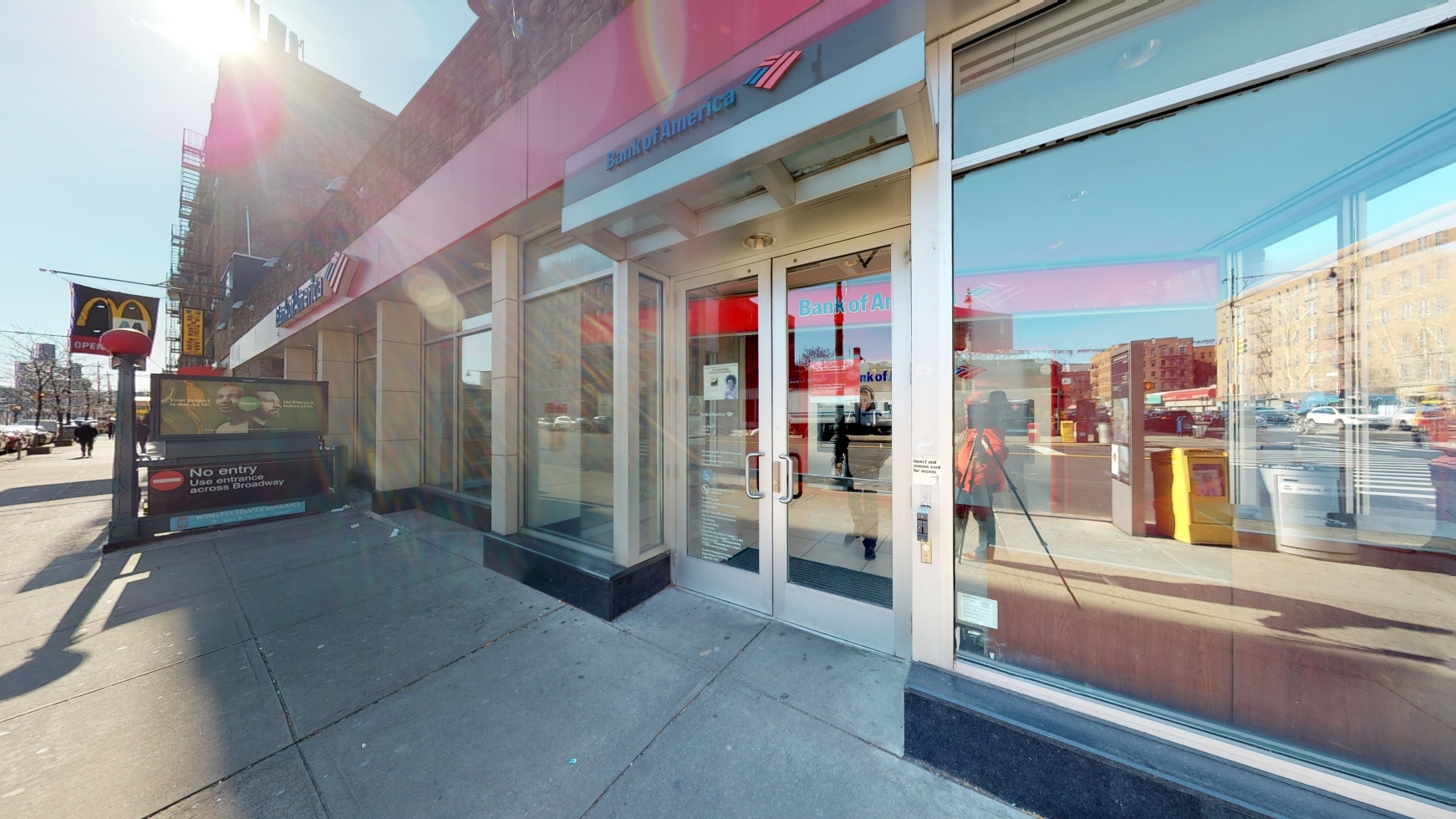 Bank of America financial center with walk-up ATM | 210 Dyckman St, New York, NY 10040