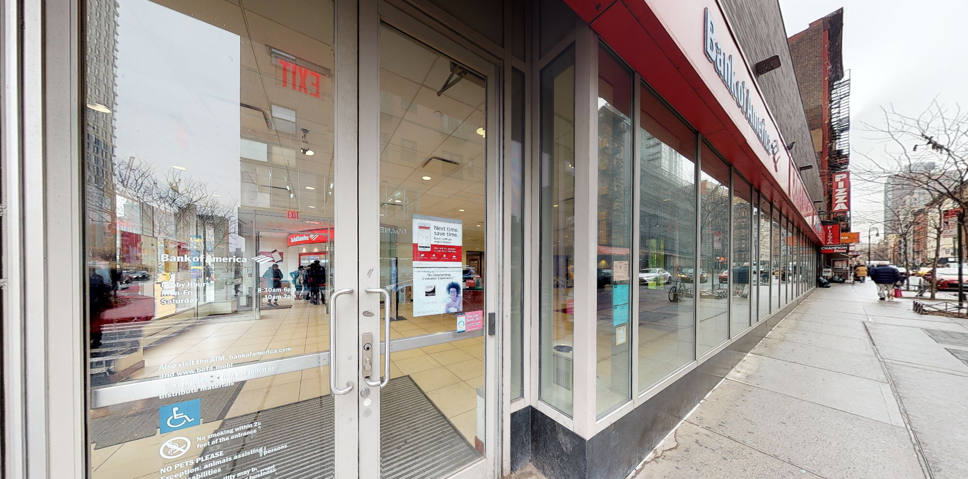 Bank of America financial center with walk-up ATM | 92 Delancey St, New York, NY 10002