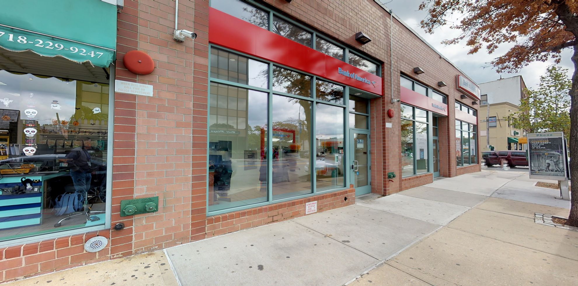 Bank of America financial center with walk-up ATM   4239 Bell Blvd, Bayside, NY 11361