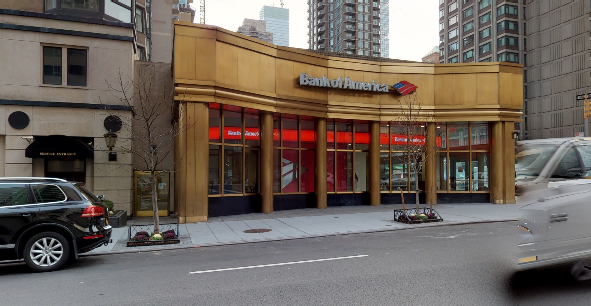 Bank of America financial center with walk-up ATM | 1107 3rd Ave, New York, NY 10065