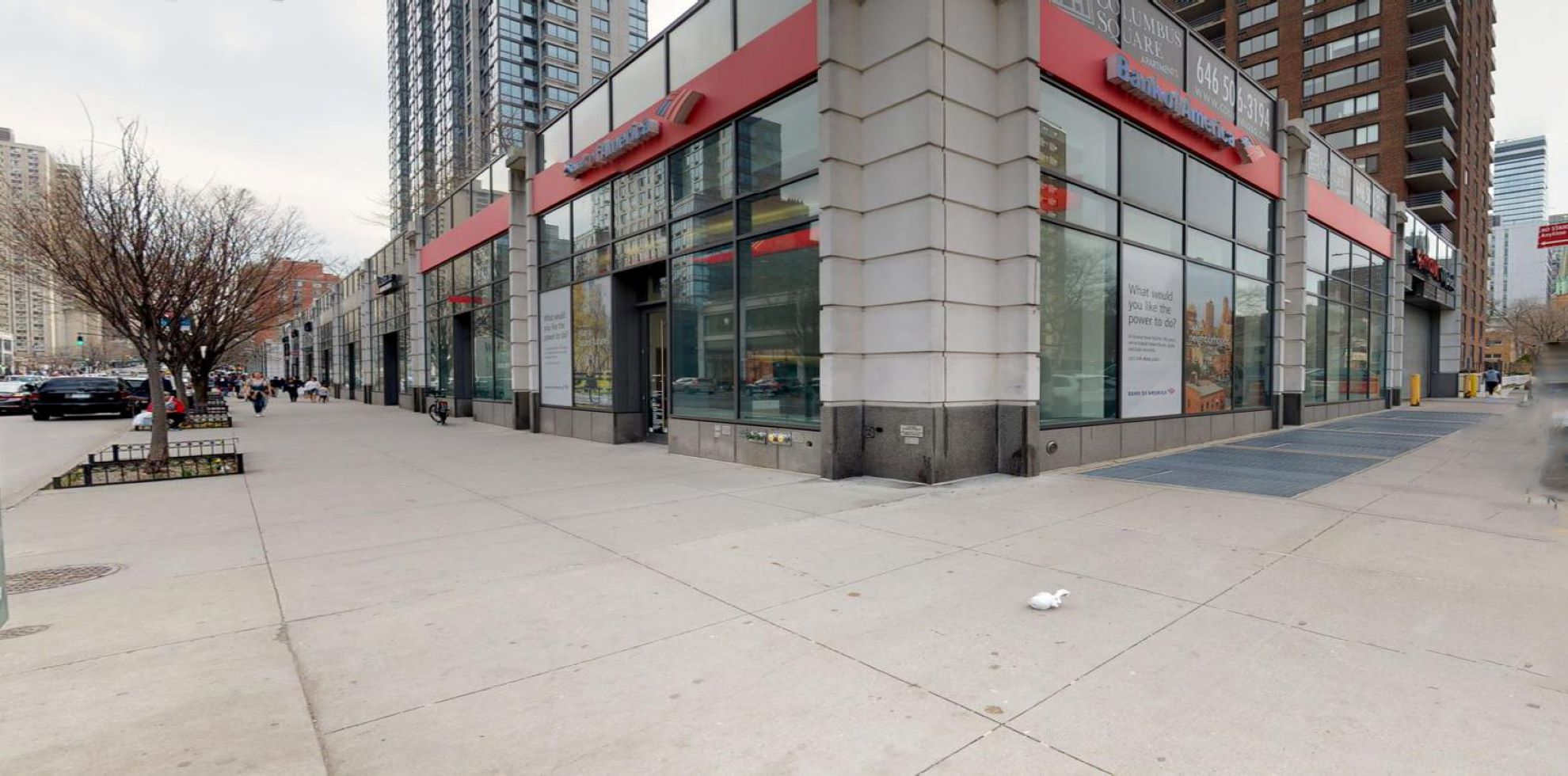 Bank of America financial center with walk-up ATM | 808 Columbus Ave, New York, NY 10025