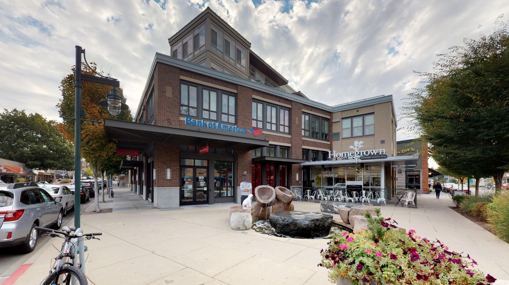 Bank of America financial center with drive-thru ATM | 101 Kirkland Ave, Kirkland, WA 98033