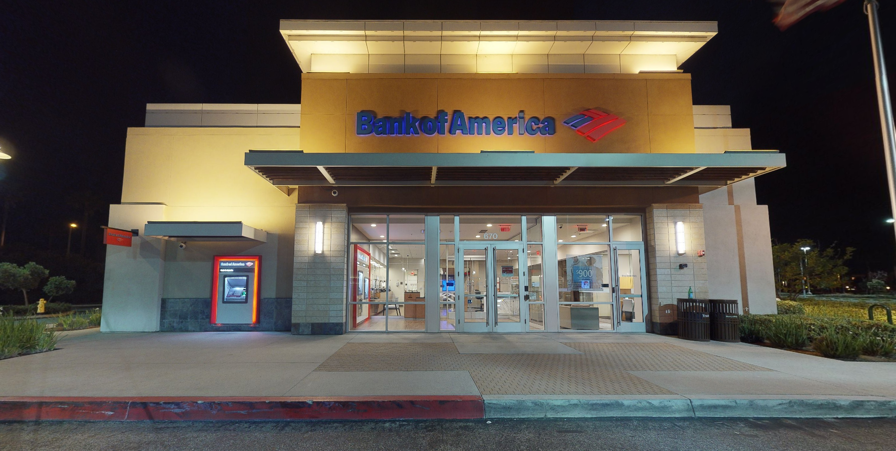 Bank of America financial center with walk-up ATM   670 Town Center Dr, Oxnard, CA 93036