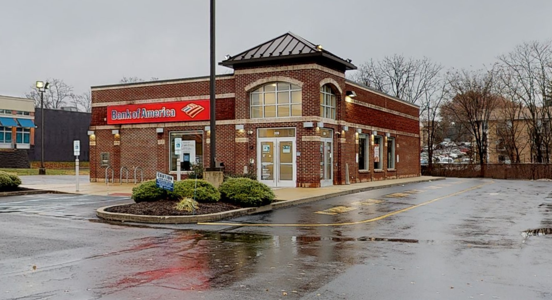 Bank of America financial center with drive-thru ATM   220 E Street Rd, Feasterville Trevose, PA 19053