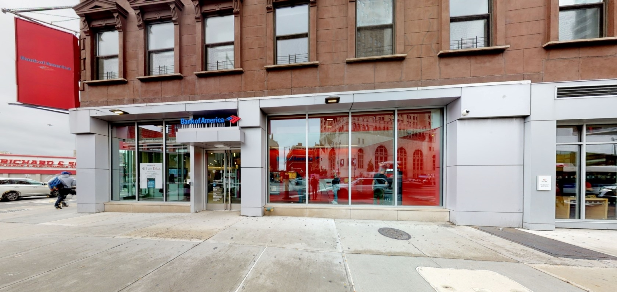 Bank of America financial center with walk-up ATM | 120 Flatbush Ave, Brooklyn, NY 11217