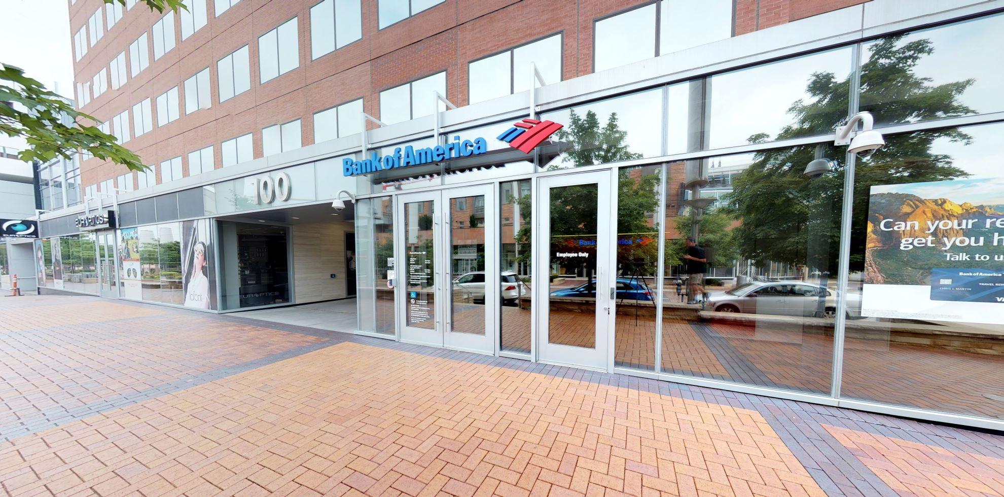 Bank of America financial center with walk-up ATM | 100 Fillmore St STE 100, Denver, CO 80206