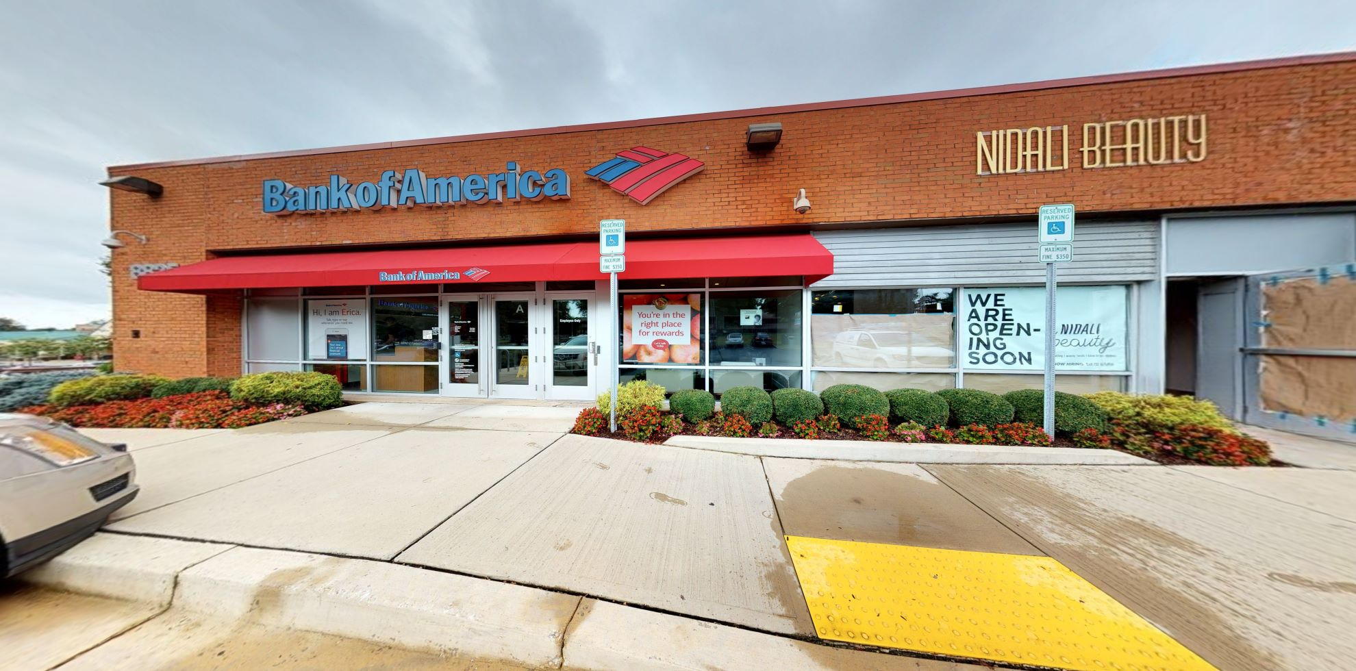 Bank of America financial center with drive-thru ATM | 8825 Centre Park Dr, Columbia, MD 21045