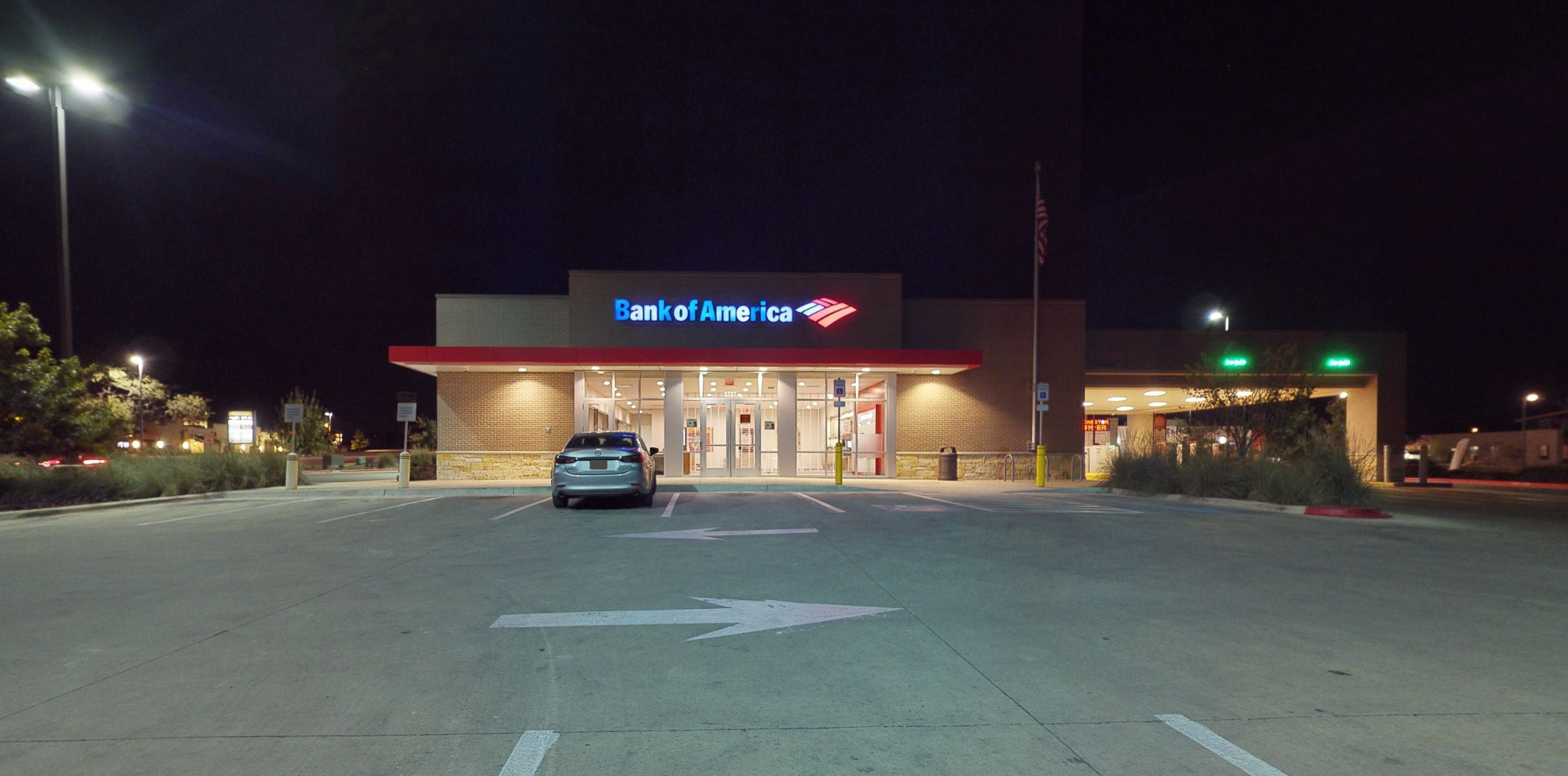 Bank of America financial center with drive-thru ATM | 1737 W State Highway 46, New Braunfels, TX 78132
