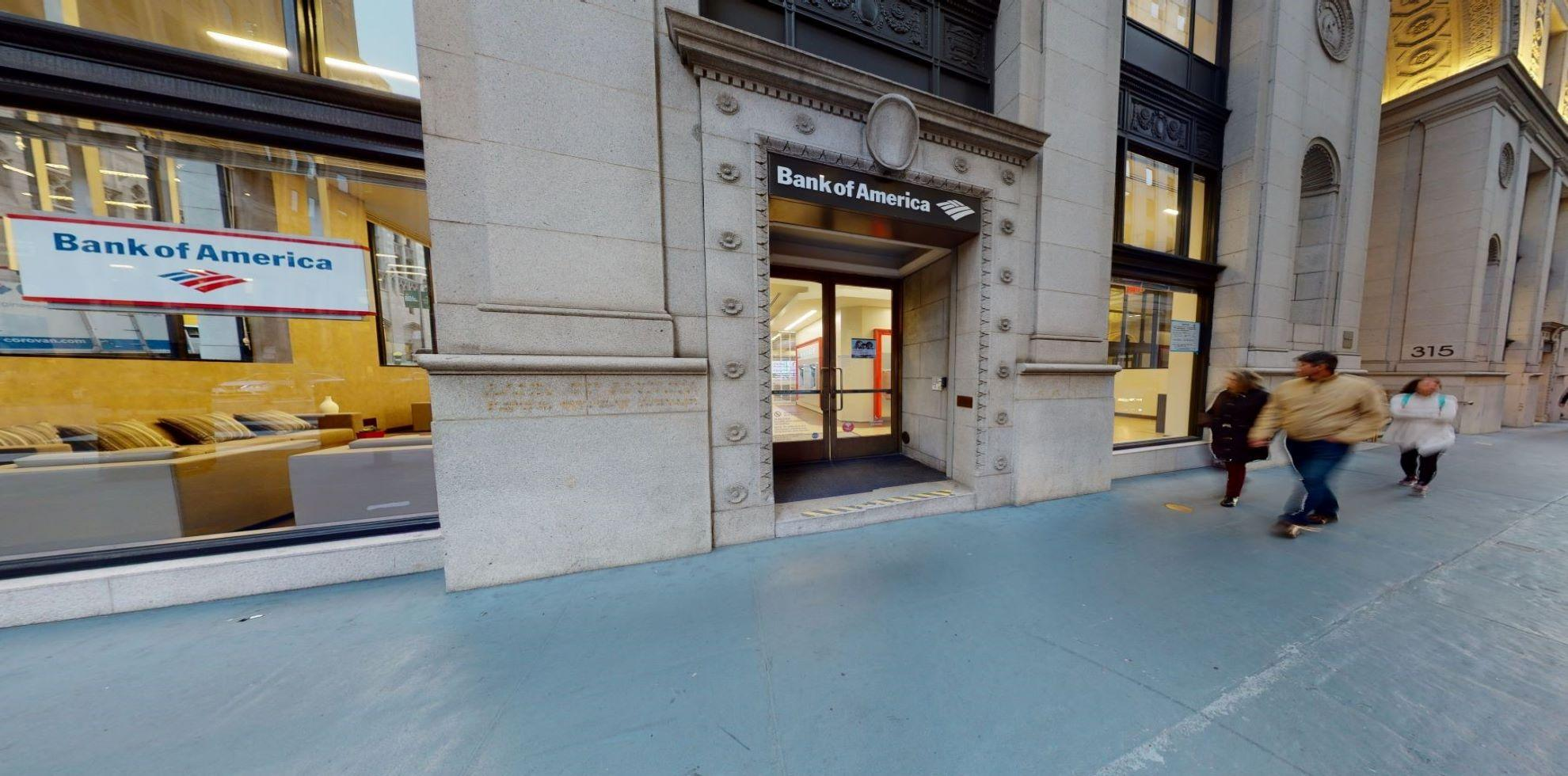 Bank of America financial center with walk-up ATM | 315 Montgomery St, San Francisco, CA 94104