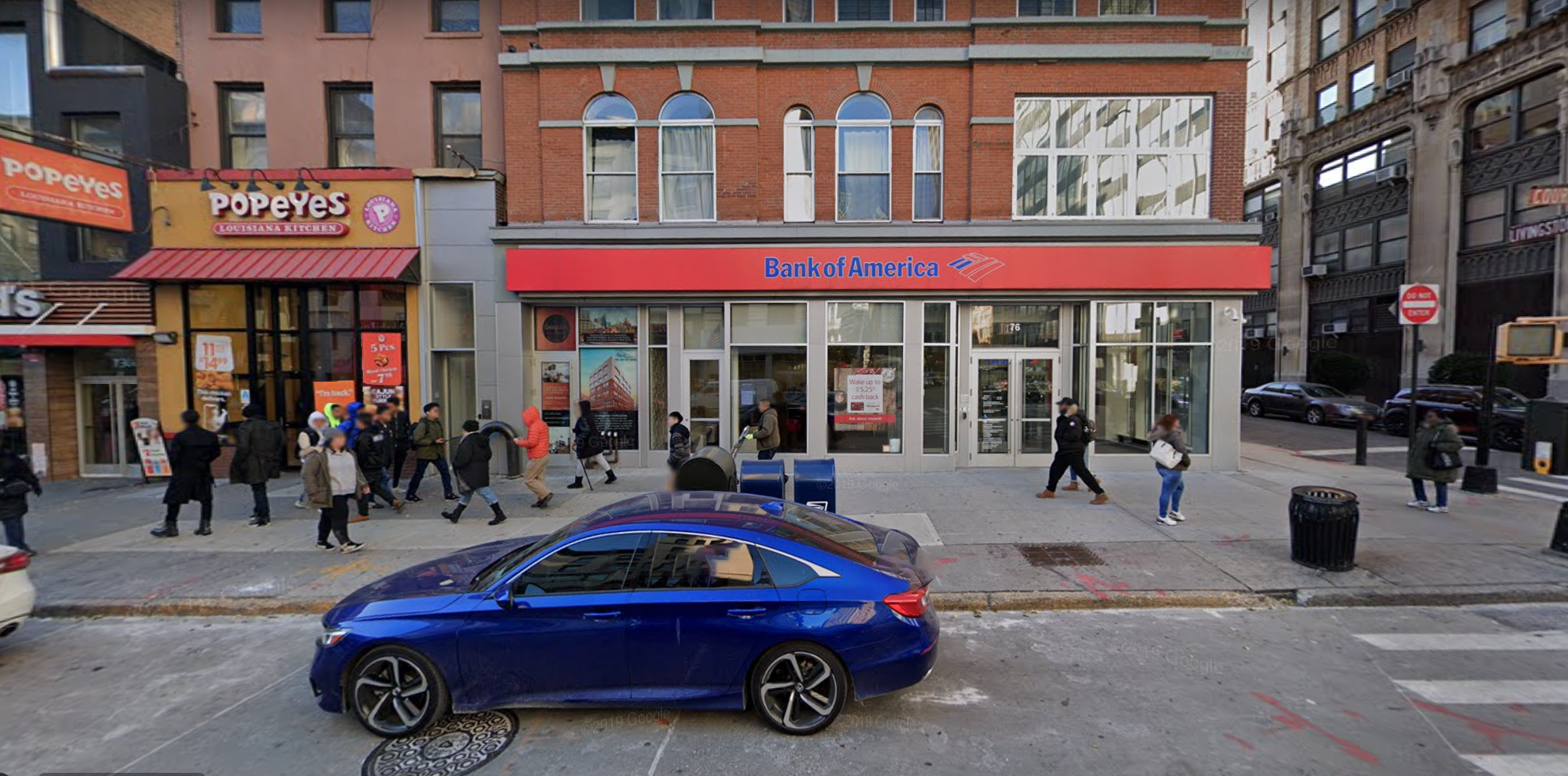 Bank of America financial center with walk-up ATM | 76 Court St STE 1, Brooklyn, NY 11201
