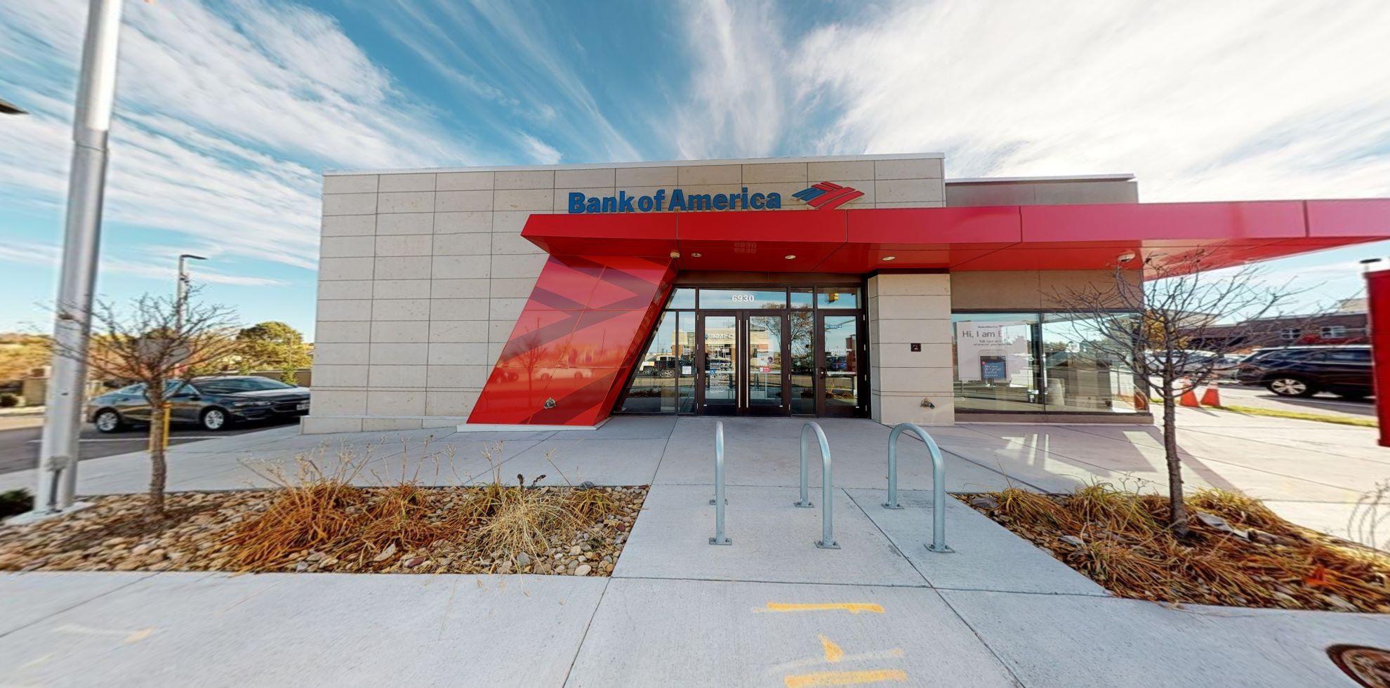 Bank of America financial center with drive-thru ATM | 6930 S University Blvd, Centennial, CO 80122
