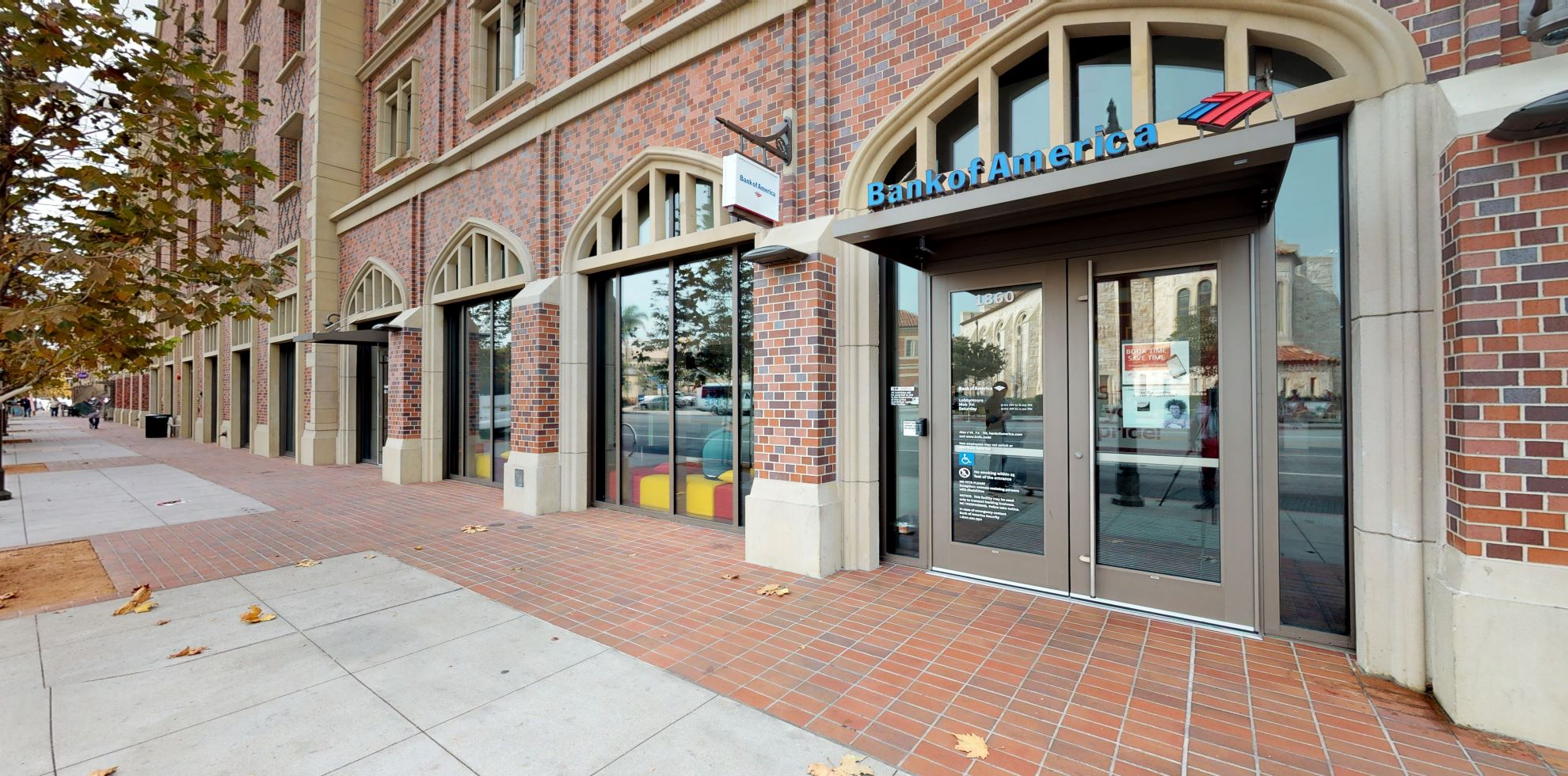 Bank of America financial center with walk-up ATM | 3201 S Hoover St STE 1860, Los Angeles, CA 90089