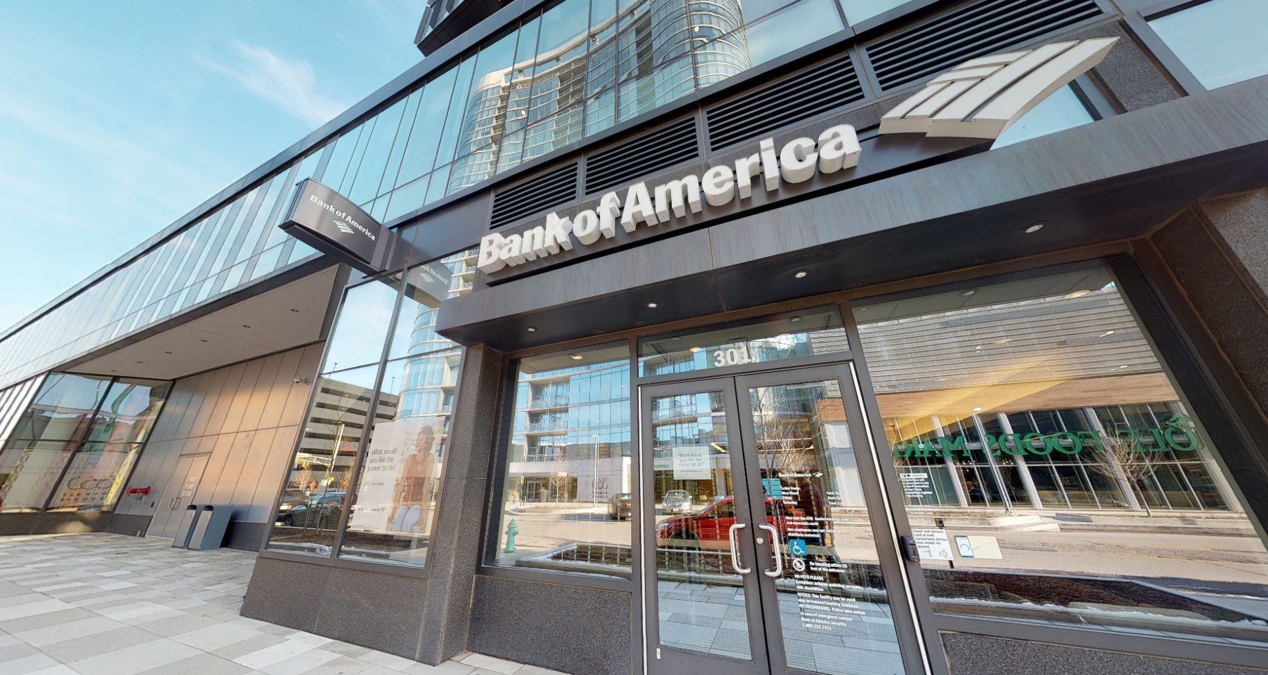 Bank of America financial center with walk-up ATM | 301 E Market St STE 116, Indianapolis, IN 46204