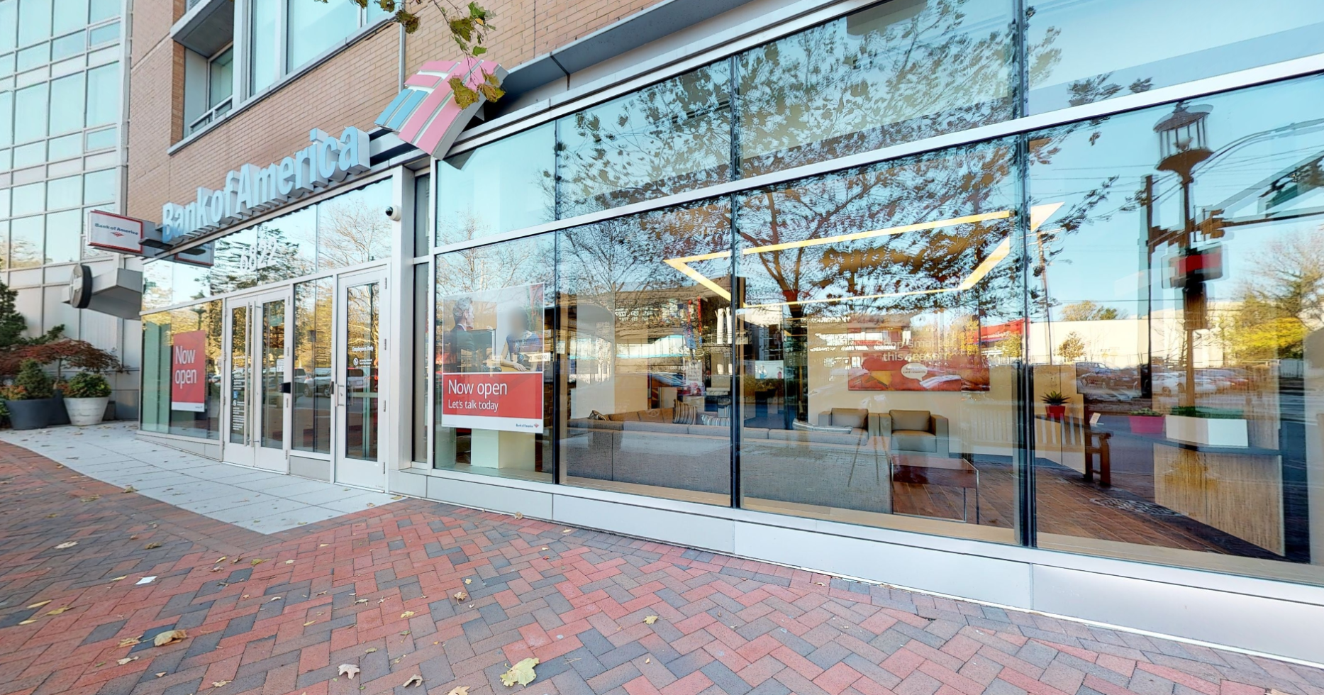 Bank of America financial center with walk-up ATM | 6822 Wisconsin Ave, Bethesda, MD 20815