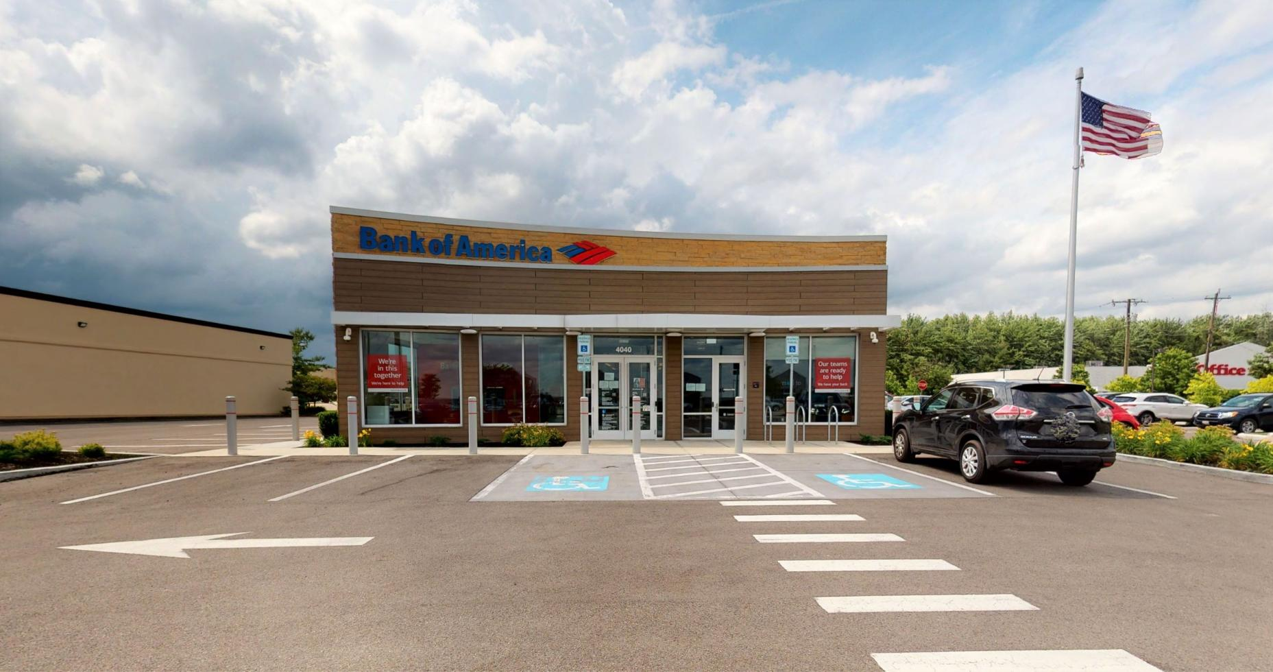 Bank of America financial center with drive-thru ATM   4040 W State Route 22 3, Loveland, OH 45140