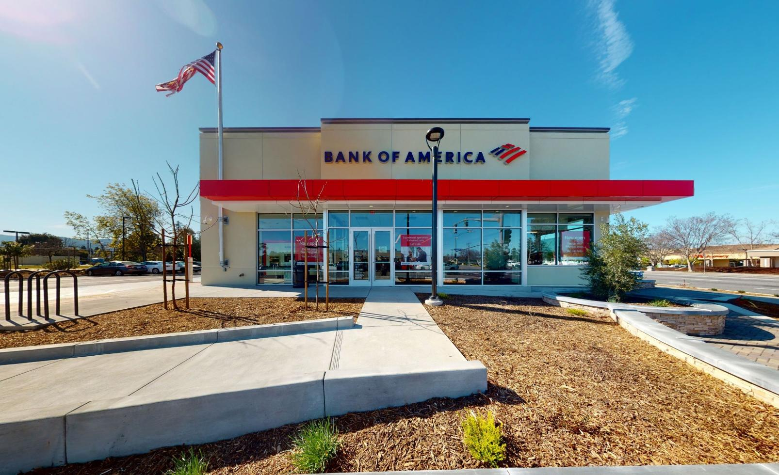 Bank of America financial center with walk-up ATM   21020 Homestead Rd, Cupertino, CA 95014