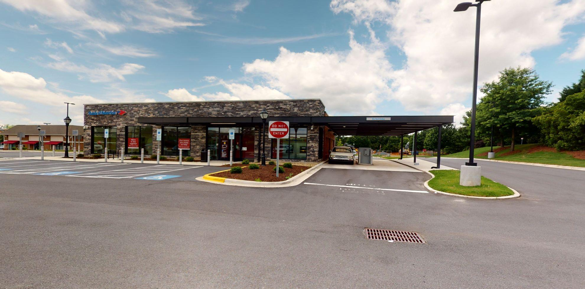 Bank of America financial center with drive-thru ATM | 6292 Carolina Commons Dr, Indian Land, SC 29707