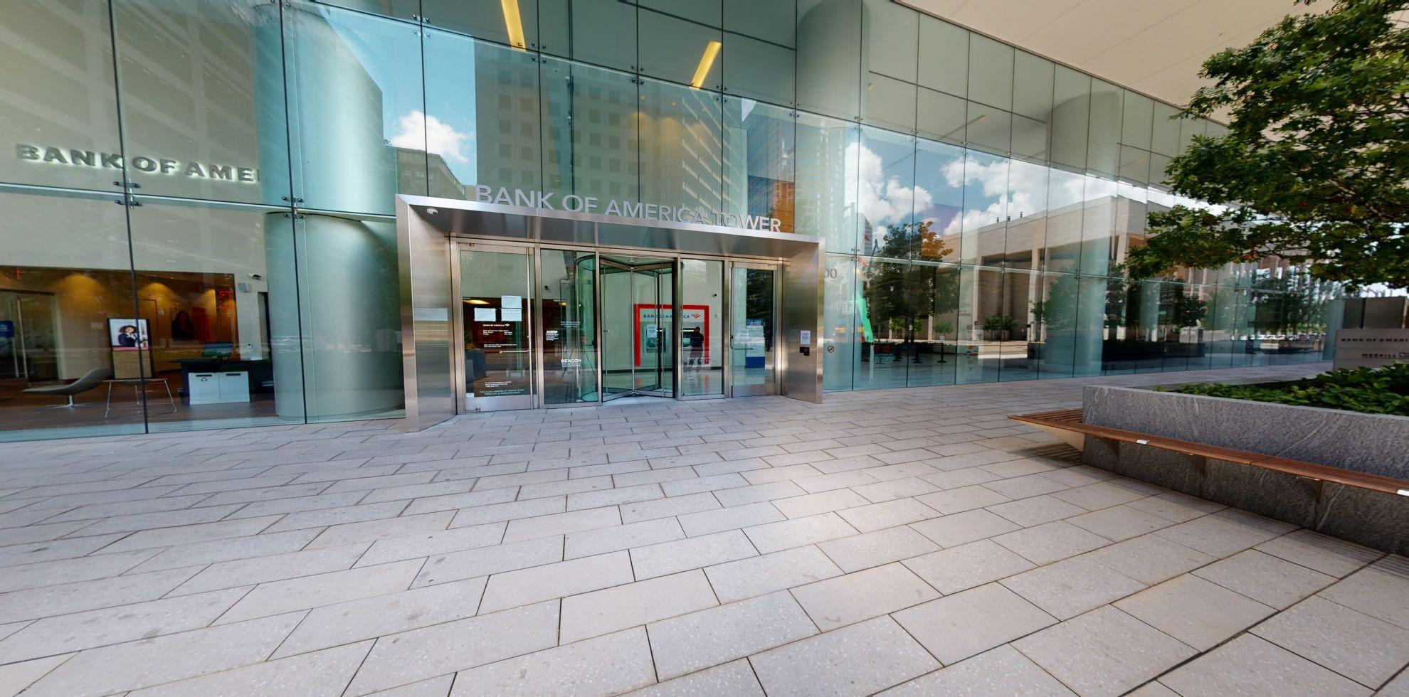 Bank of America financial center with walk-up ATM | 800 Capitol St STE 100, Houston, TX 77002