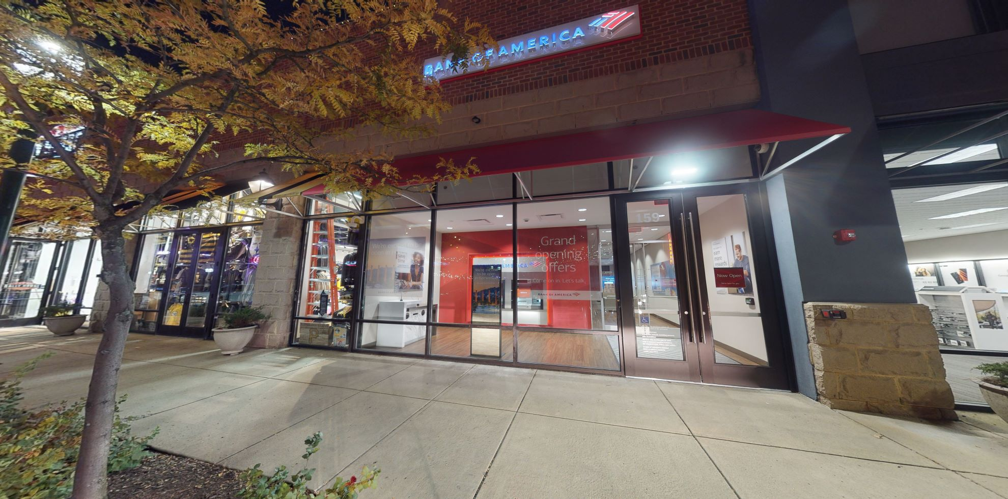 Bank of America financial center with walk-up ATM | 159 E Bridge St, Homestead, PA 15120