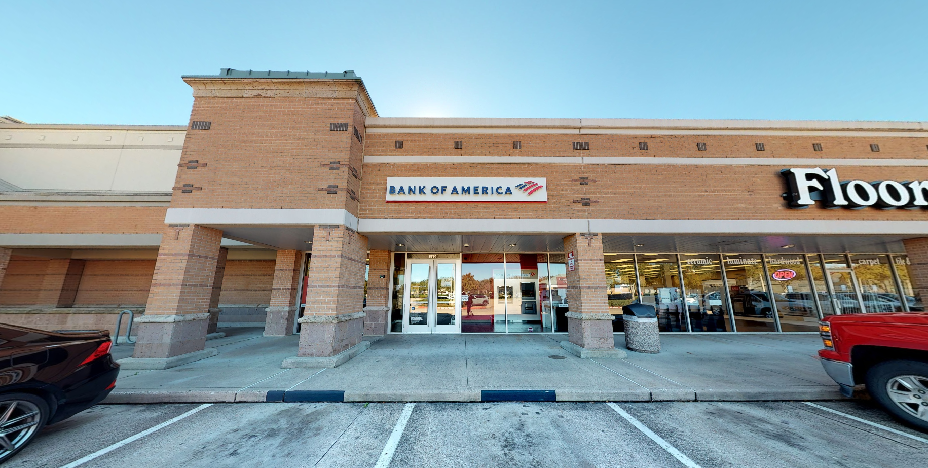 Bank of America financial center with walk-up ATM   5750 New Territory Blvd, Sugar Land, TX 77479