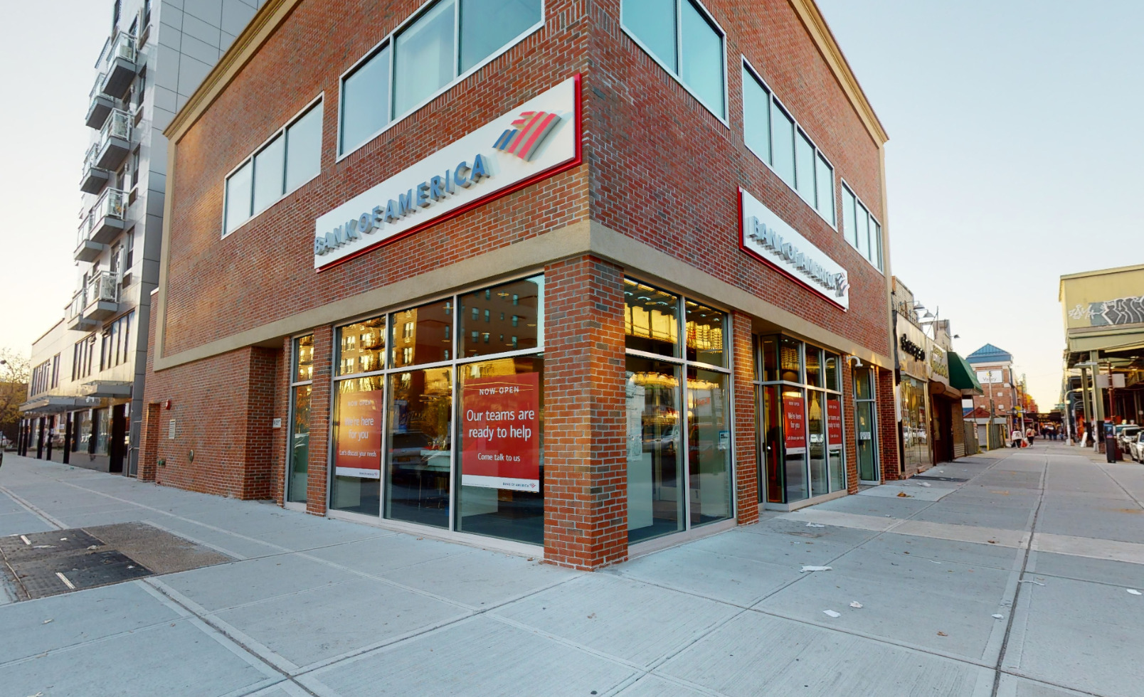 Bank of America financial center with walk-up ATM | 2076 86th St, Brooklyn, NY 11214