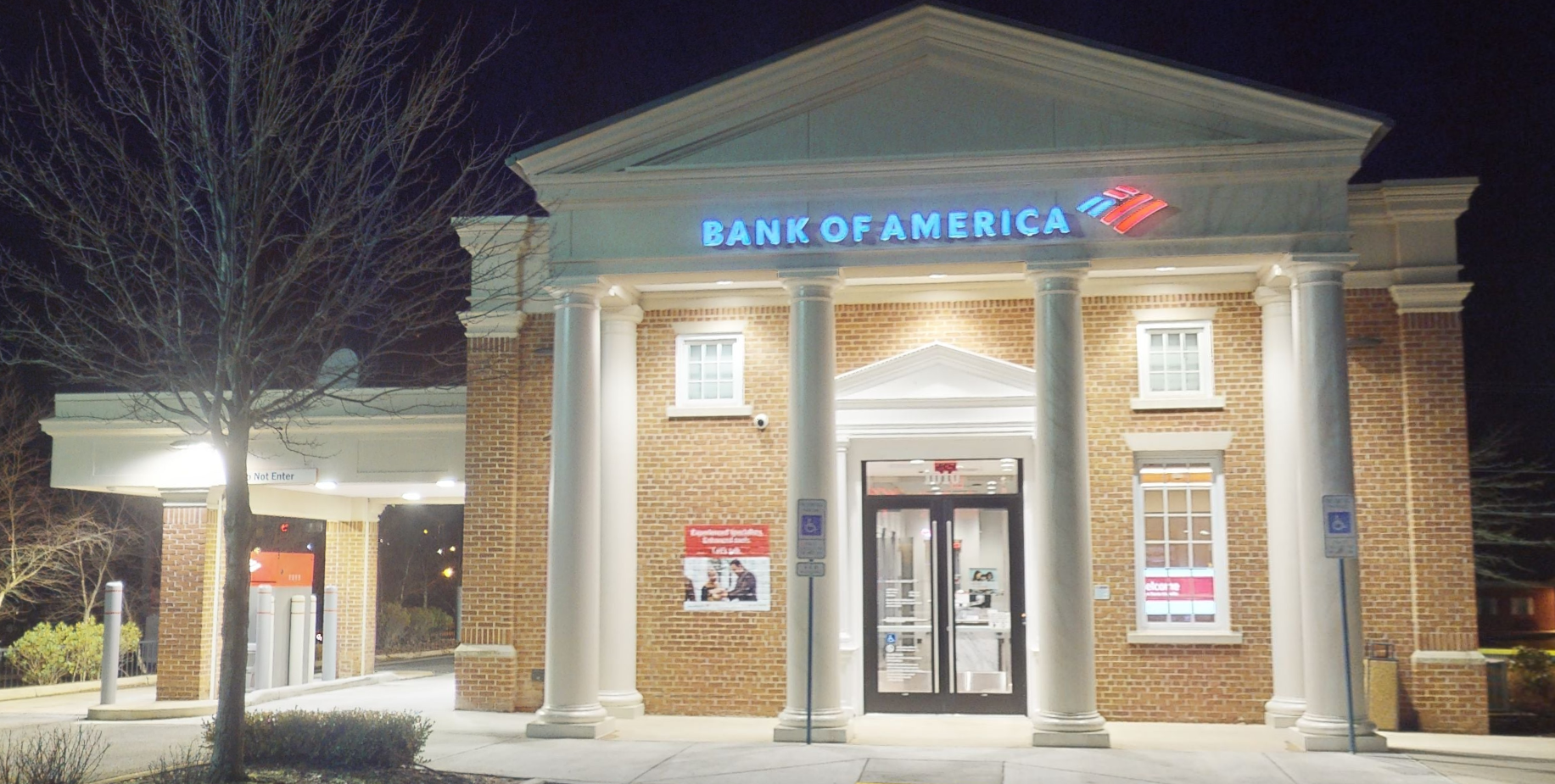 Bank of America financial center with drive-thru ATM | 1010 E Main St, Purcellville, VA 20132