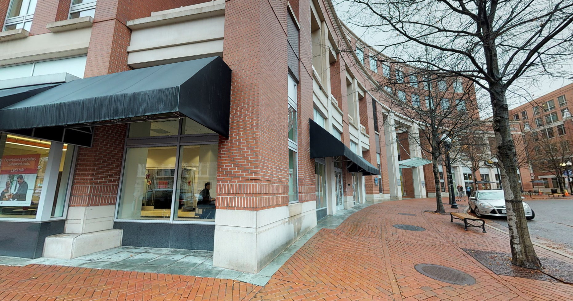 Bank of America financial center with walk-up ATM   415 John Carlyle St, Alexandria, VA 22314