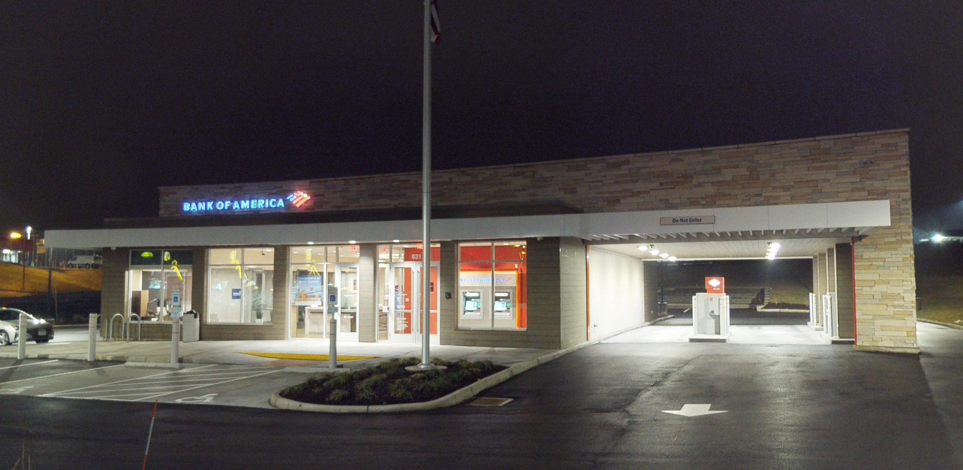 Bank of America financial center with drive-thru ATM | 831 Eastgate South Dr, Cincinnati, OH 45245