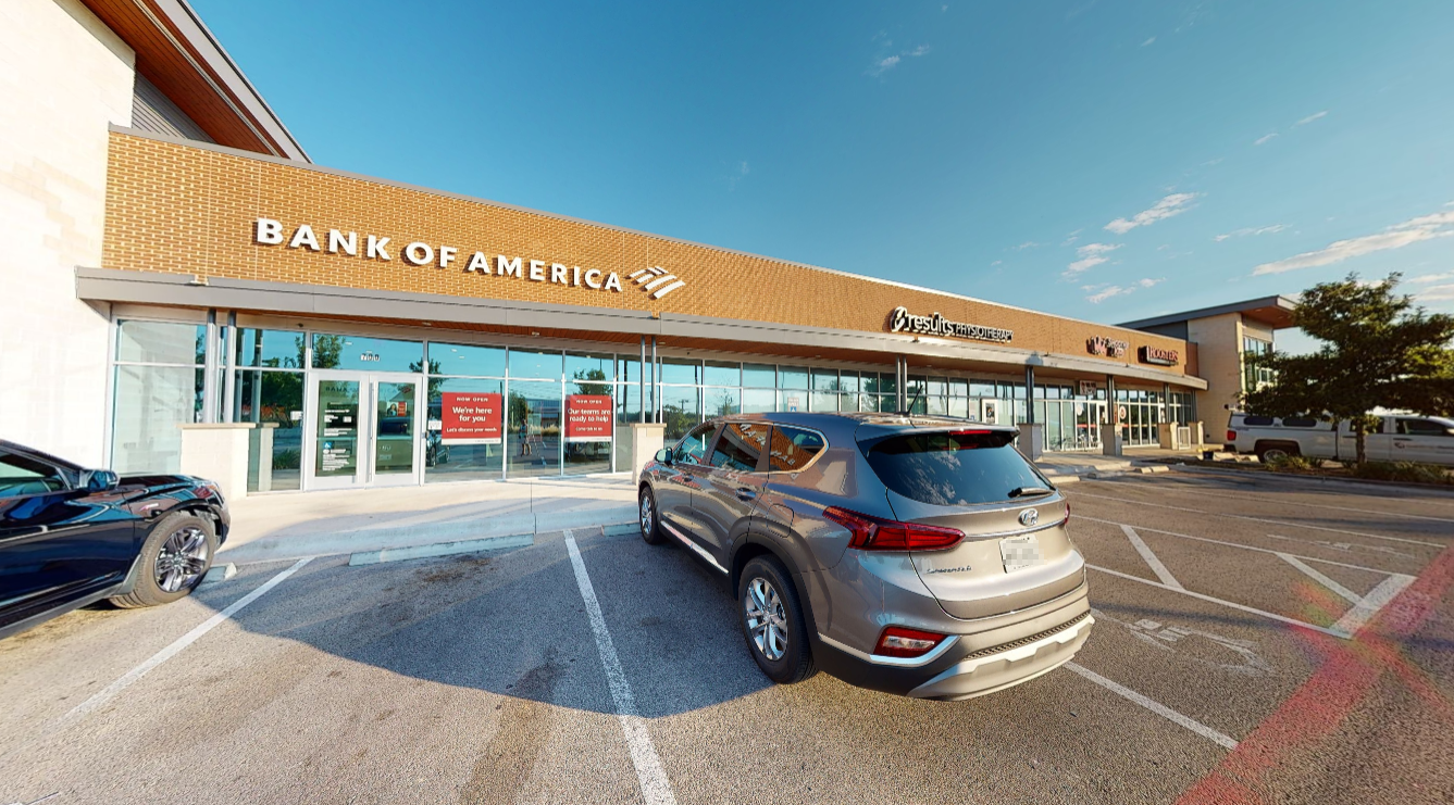 Bank of America financial center with walk-up ATM   455 University Blvd 700, Round Rock, TX 78665