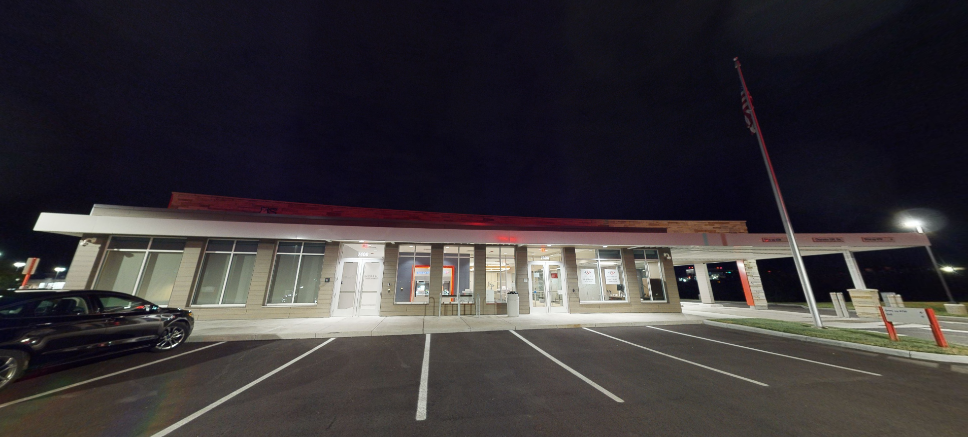 Bank of America financial center with drive-thru ATM | 7400 Tylersville Rd, West Chester, OH 45069